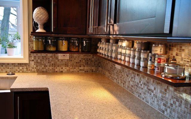 Kitchen Under Cabinet Shelf For The Home Pinterest