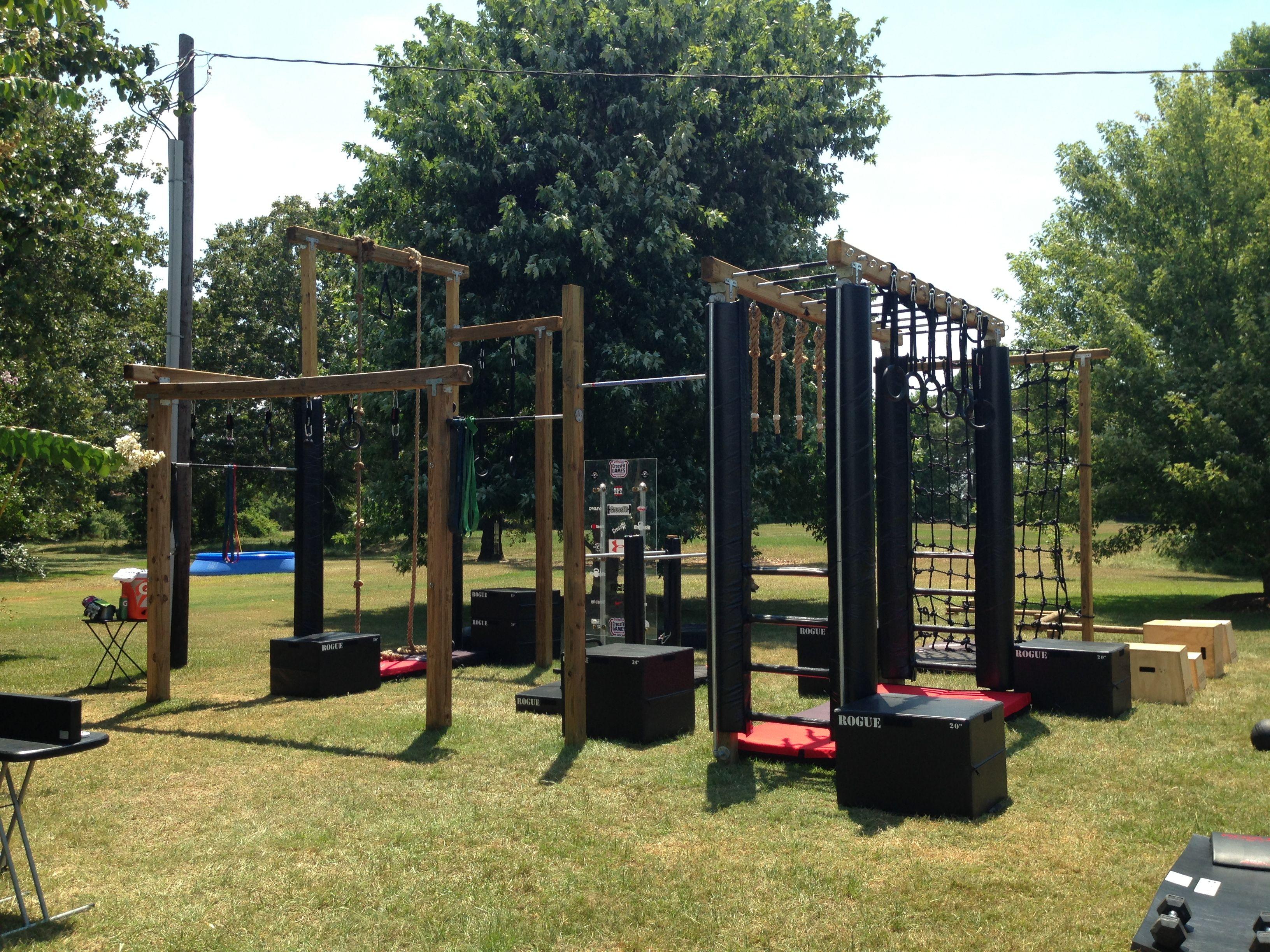 Backyard Gym Plans : Backyard gym  Home Gym Ideas  Pinterest