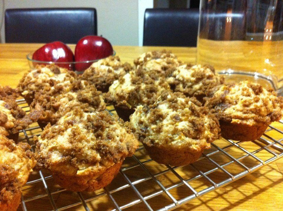 Apple strudel muffins   From My Kitchen   Pinterest