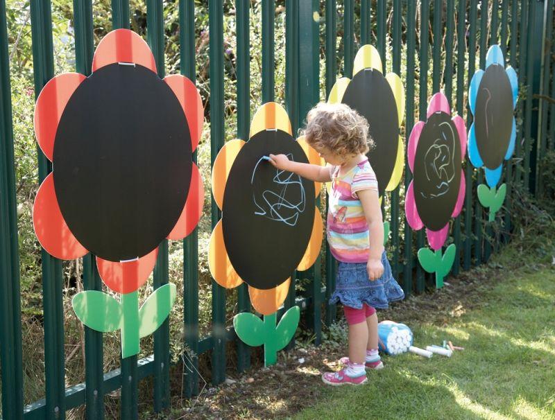 Идеи оформления детской площадки для детского сада своими руками 223