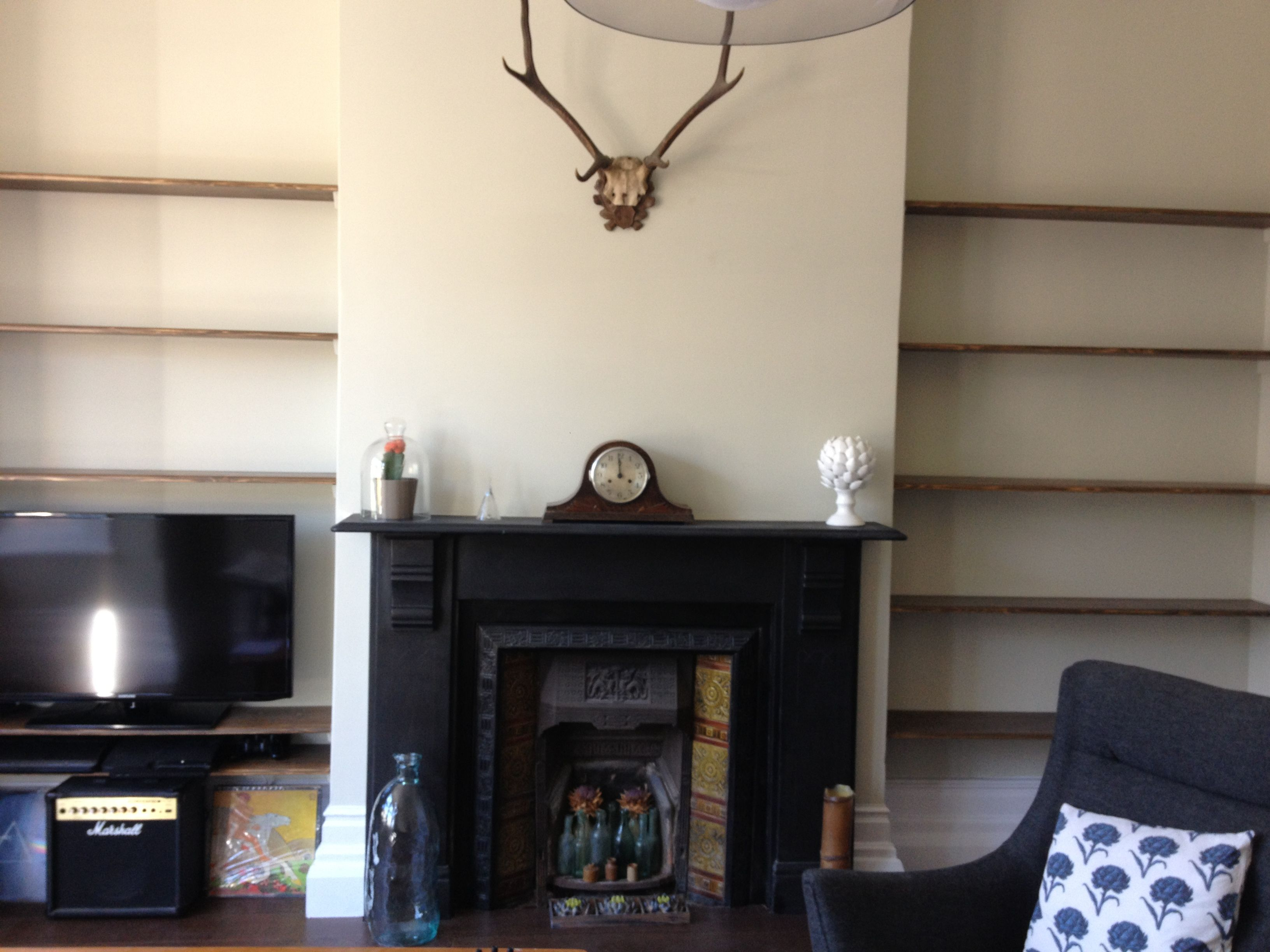 Alcove Fireplace For The Home Pinterest