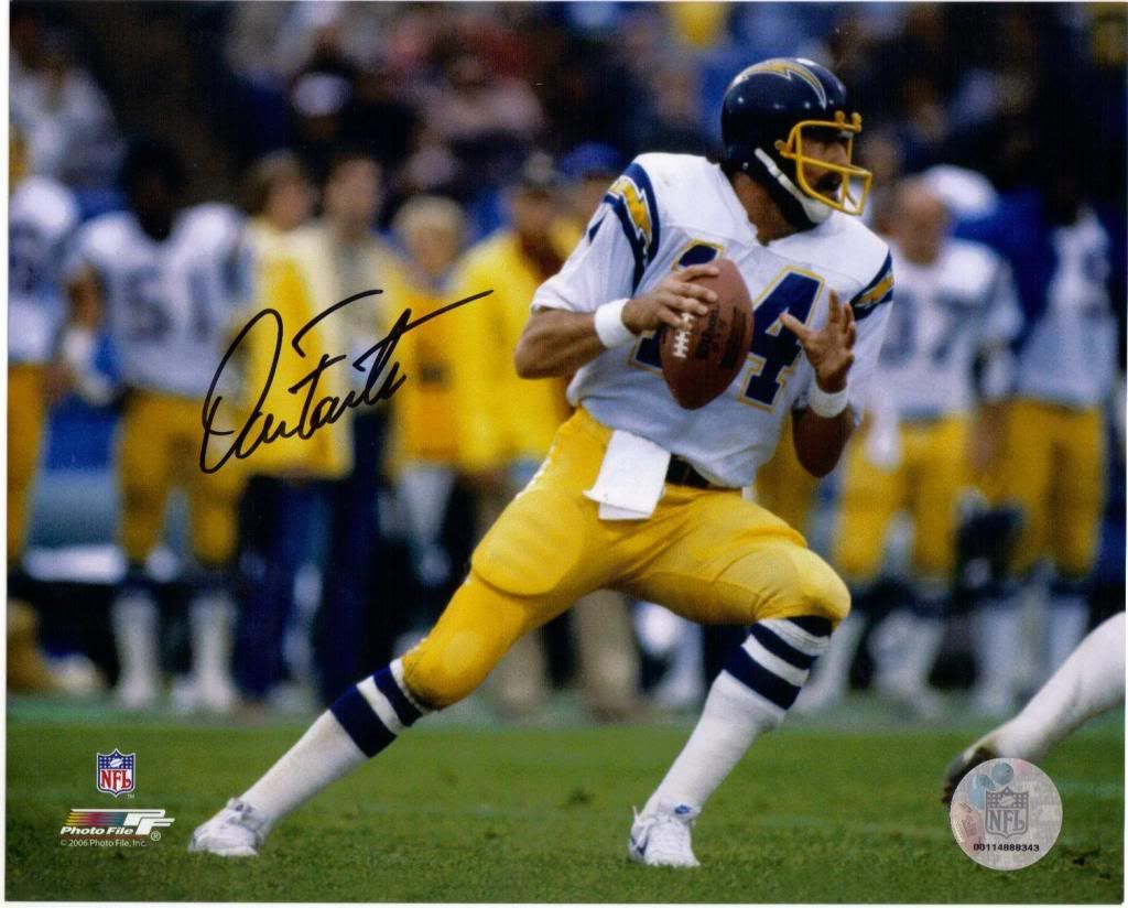 Dan Fouts Qb Chargers Nfl Players The 80 S Pinterest