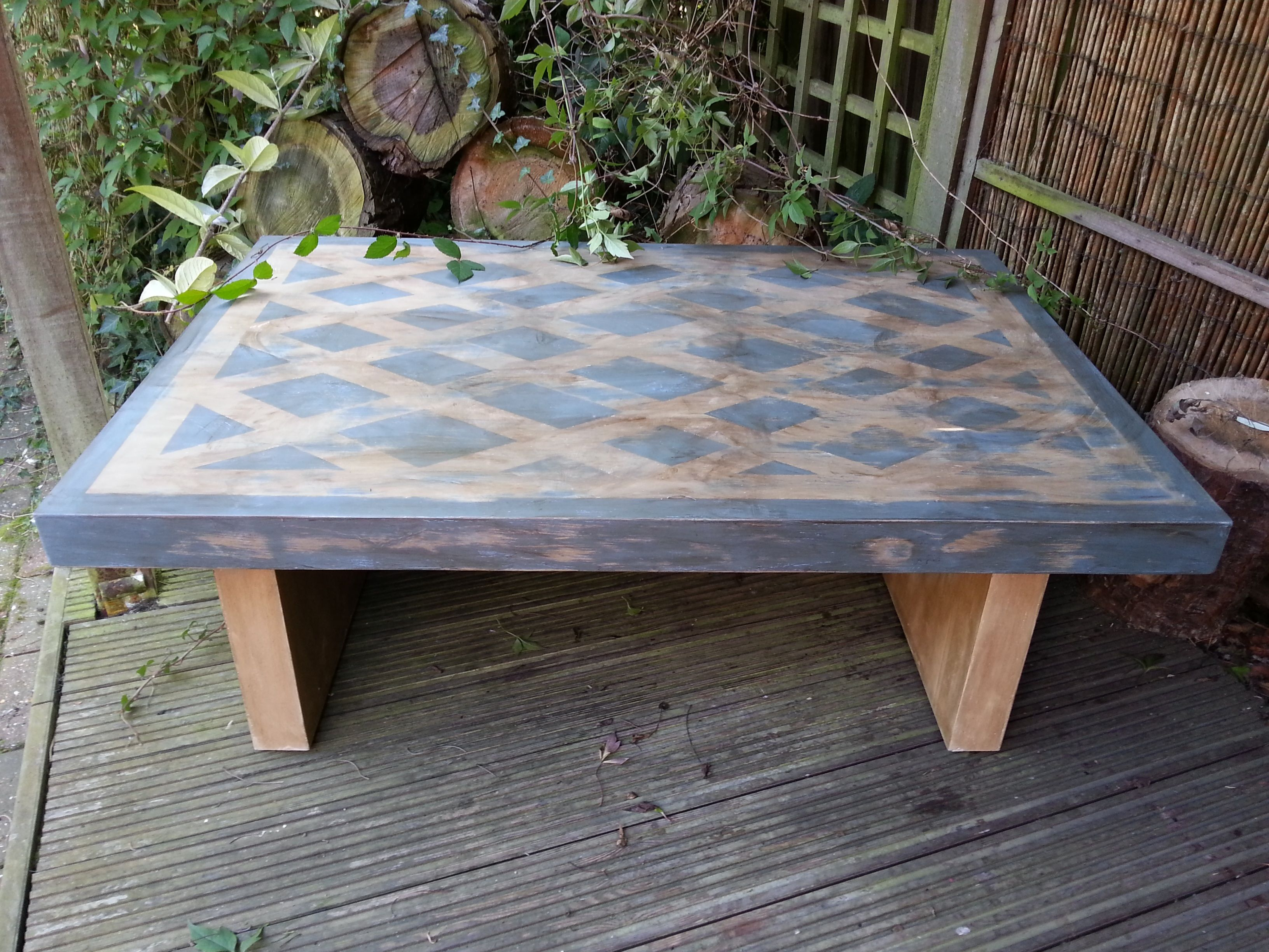 Painted Distressed Coffee Tables