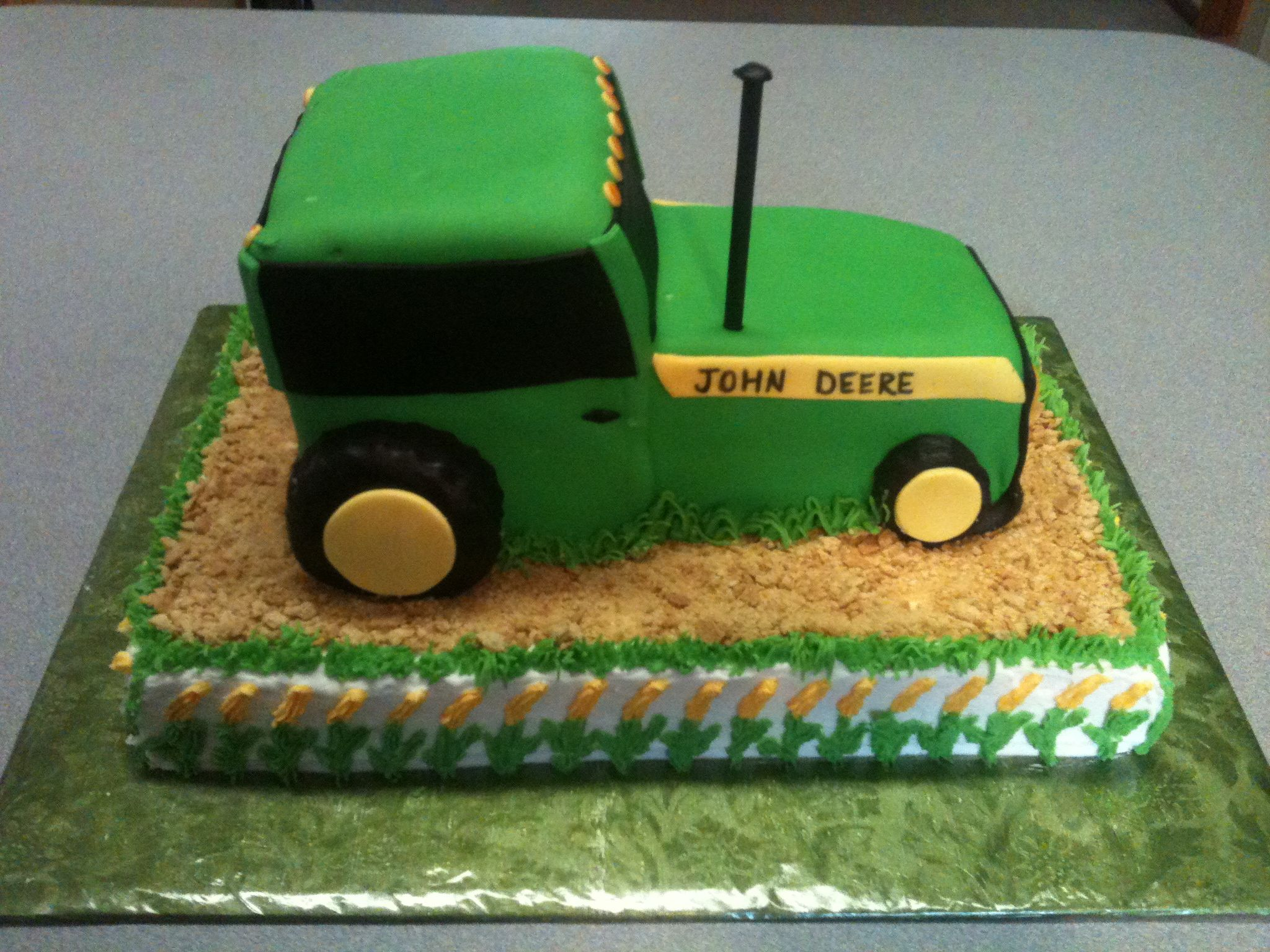 Images Of Tractor Birthday Cake : John Deere Tractor Birthday Cake Cakes & Cupcakes ...
