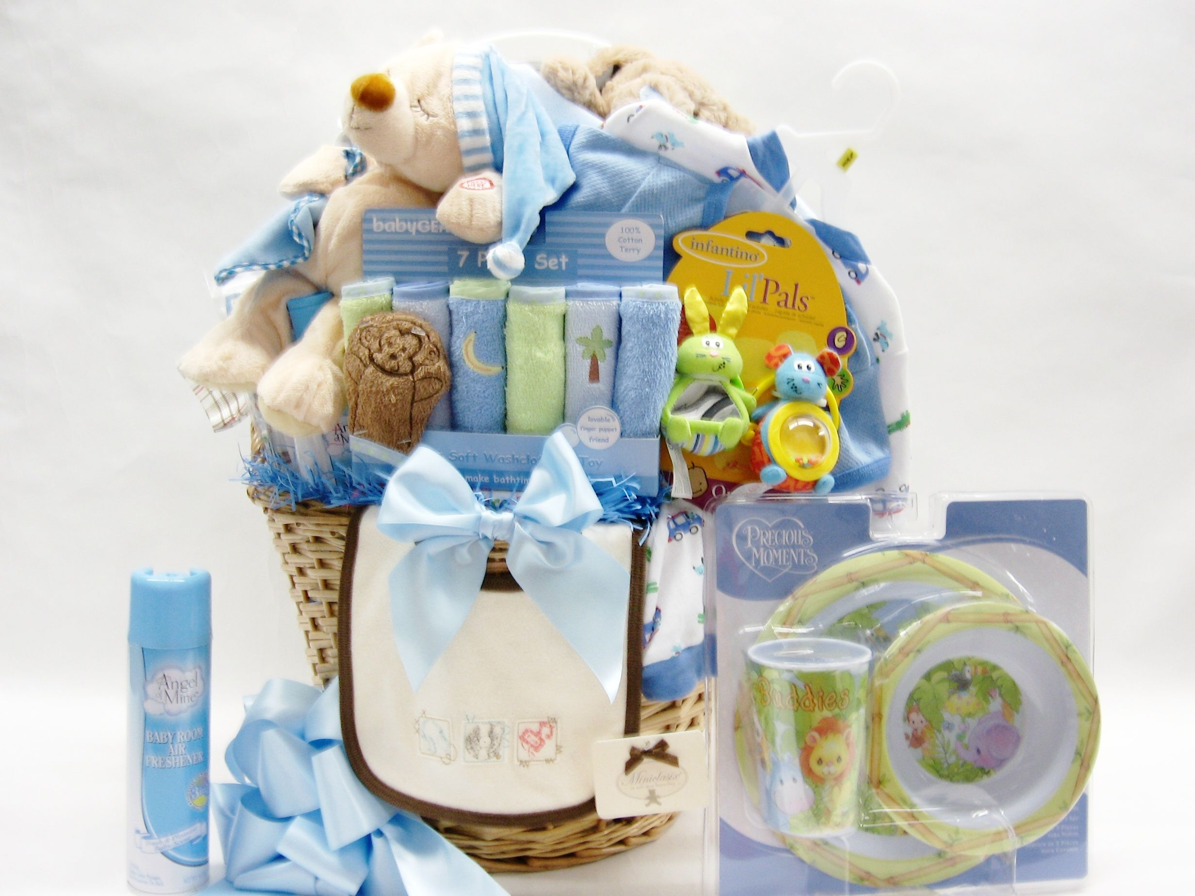 Baby Gift Basket Business : Sleepy time baby spa gift basket boy business profile