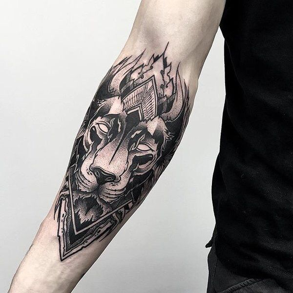 40 Lion Forearm Tattoos For Men – Manly Ink Ideas