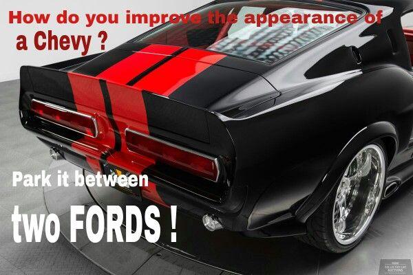 Ford Meme Chevy Love