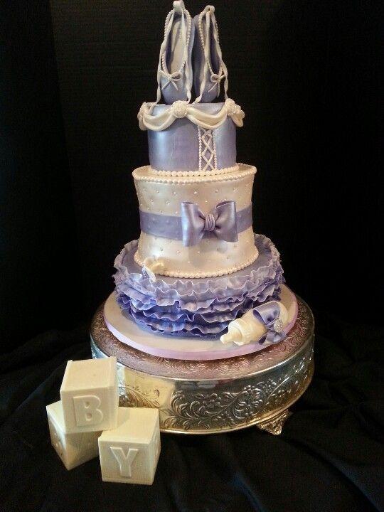 ballerina baby shower cake cake designs pinterest