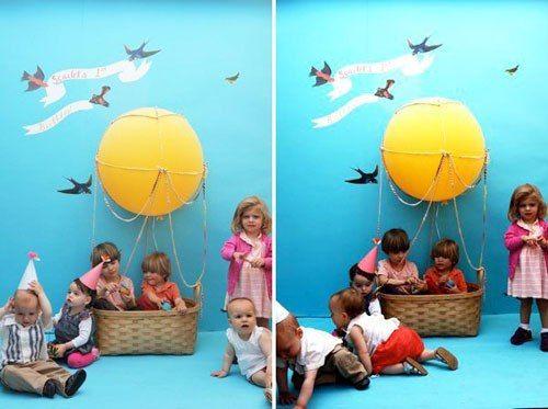 Воздушный шар для детей своими руками