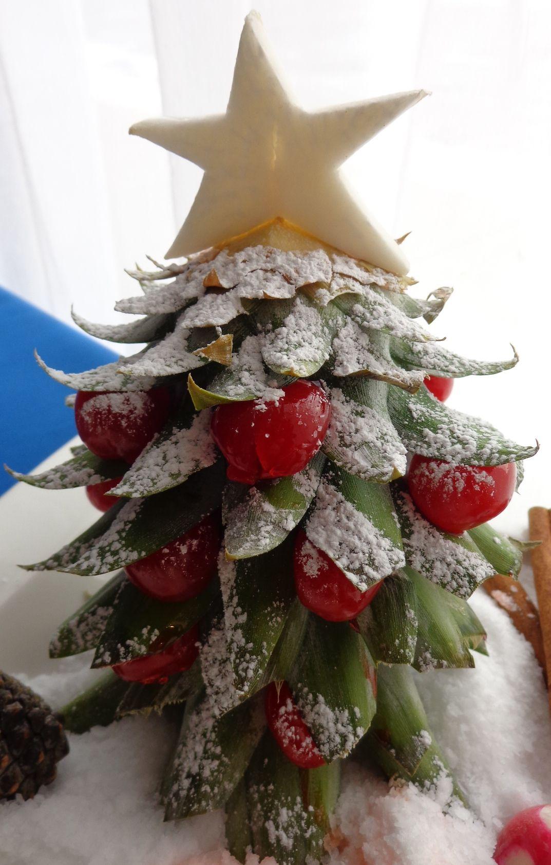 Pineapple Christmas Tree The Joy Of Christmas Pinterest