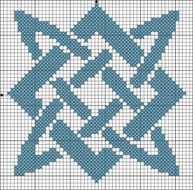 Вышивка квадрат сварога 12