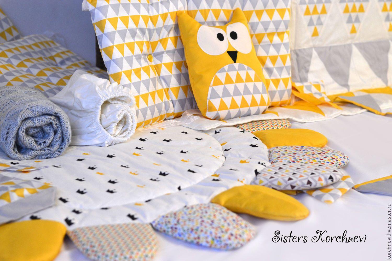 Сшить постельное белье для детской кроватки своими руками