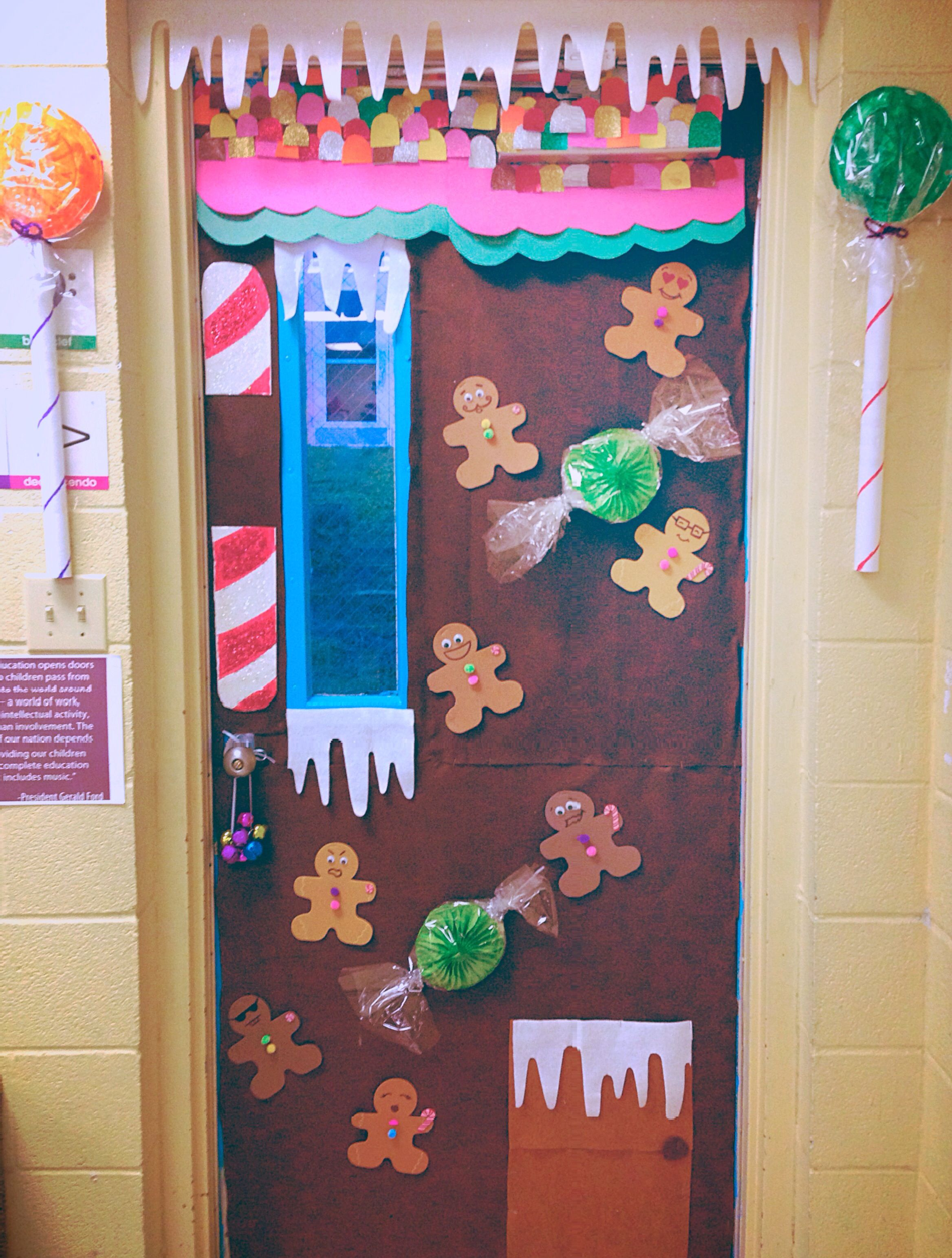Candyland Christmas Door Decoration Ideas : Pin by claudia amaya cervantes on preschool bulletin