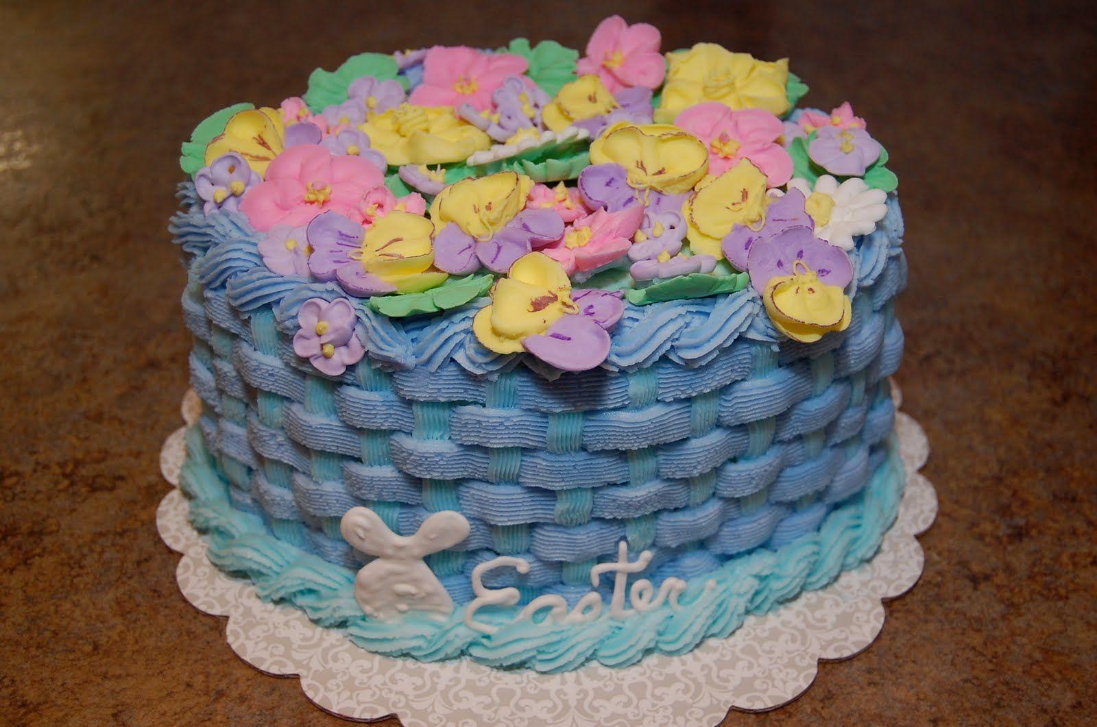 Easter Cake ~ Wilton Cakes Pinterest