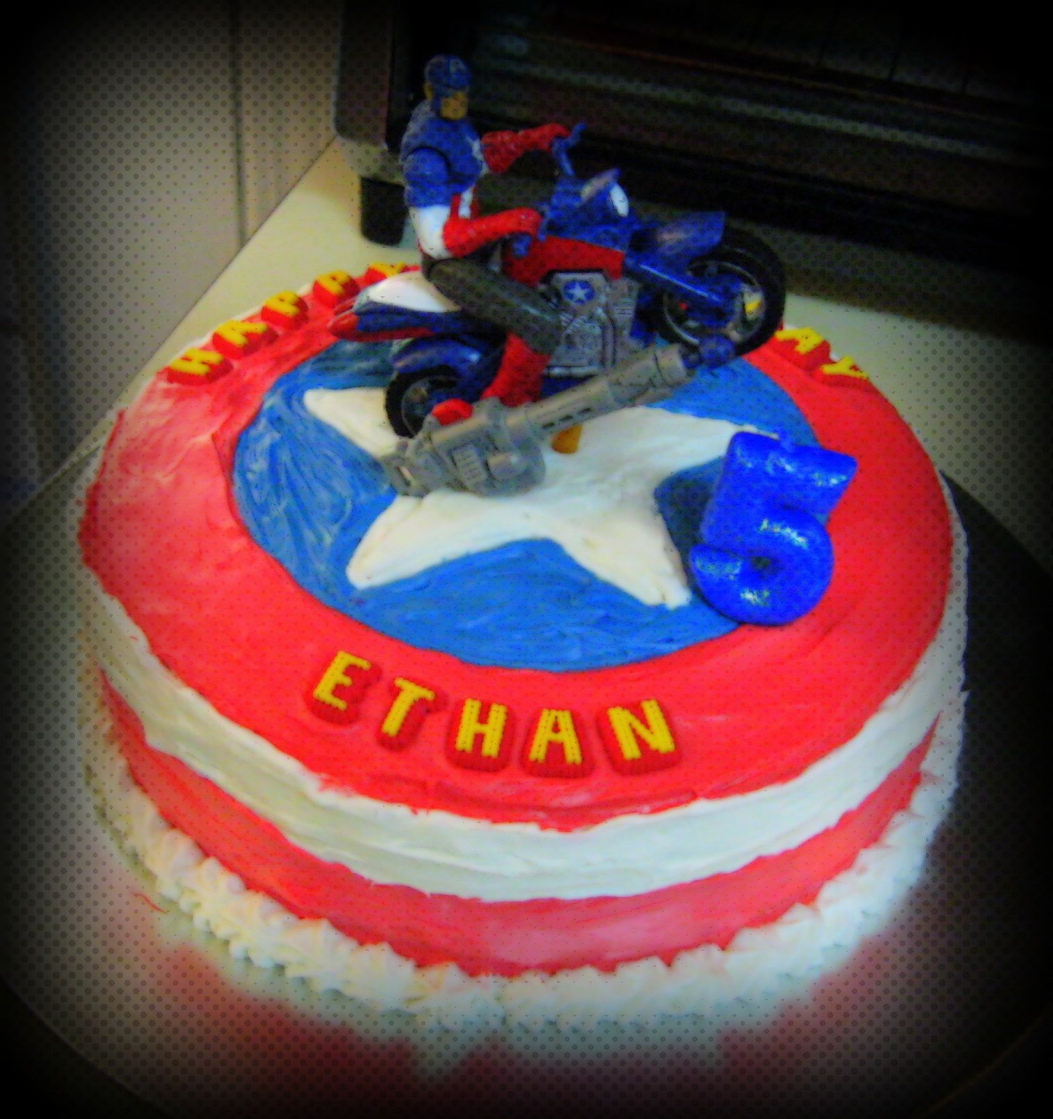 Homemade Captain America Cake Ideas 107366 Captain America