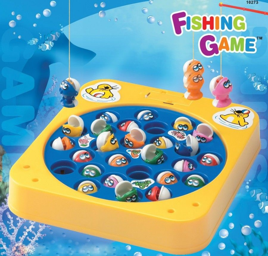 Magnetic fishing game smells like childhood pinterest for Fishing fishing games
