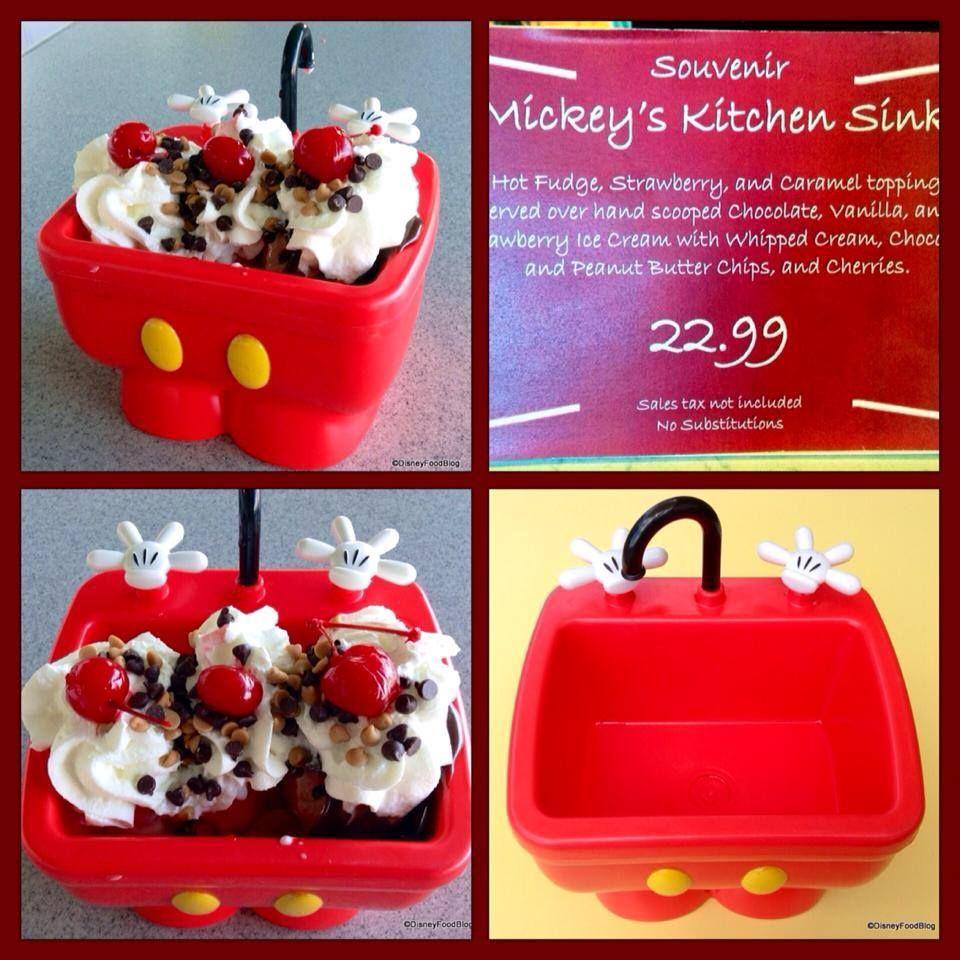 """Walt Disney World """"Kitchen Sink"""" Dessert"""