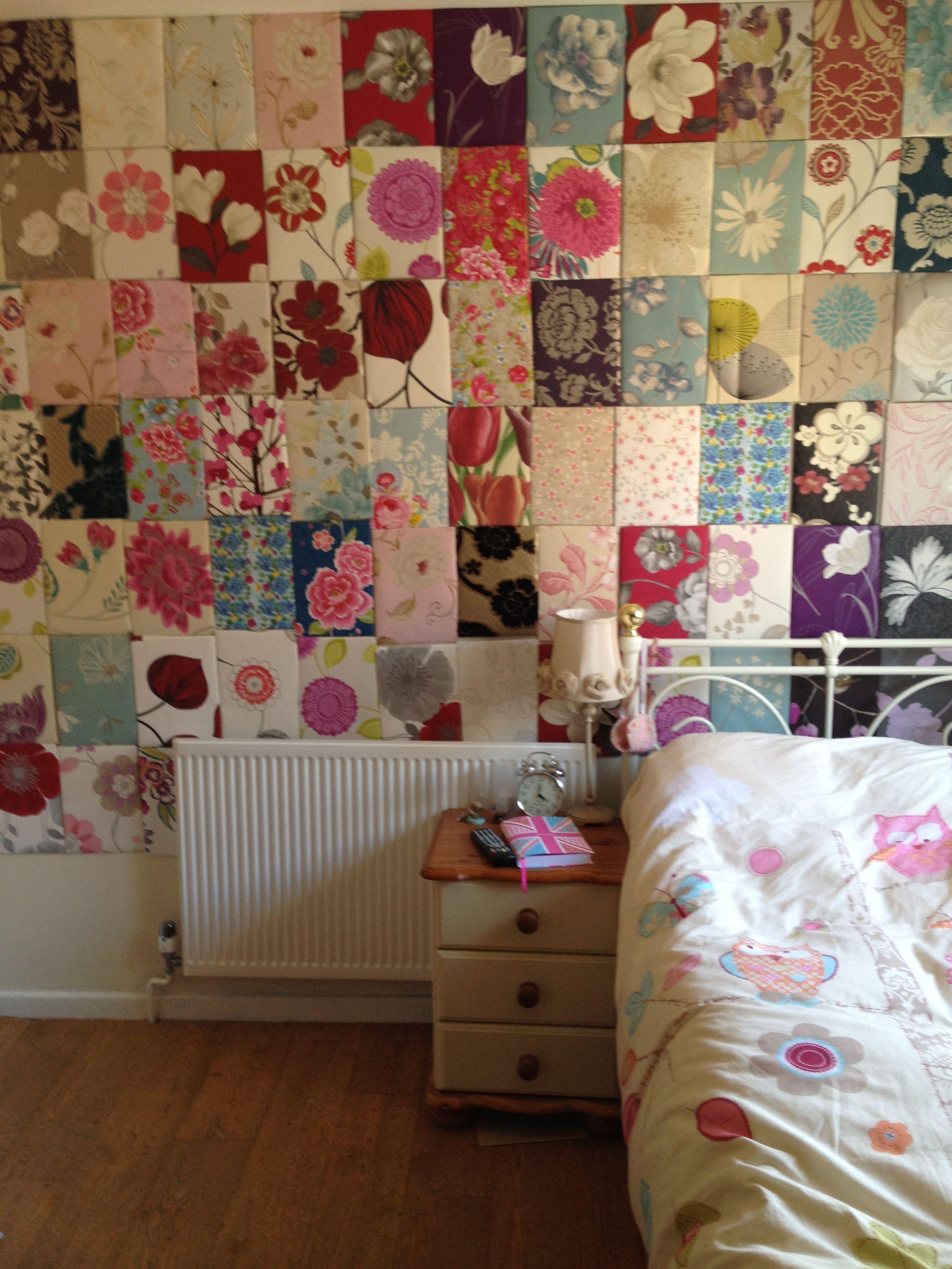 By Julie Ann Shahin On DIY Wallpaper Samples Crafts Luv Xoxo Pi