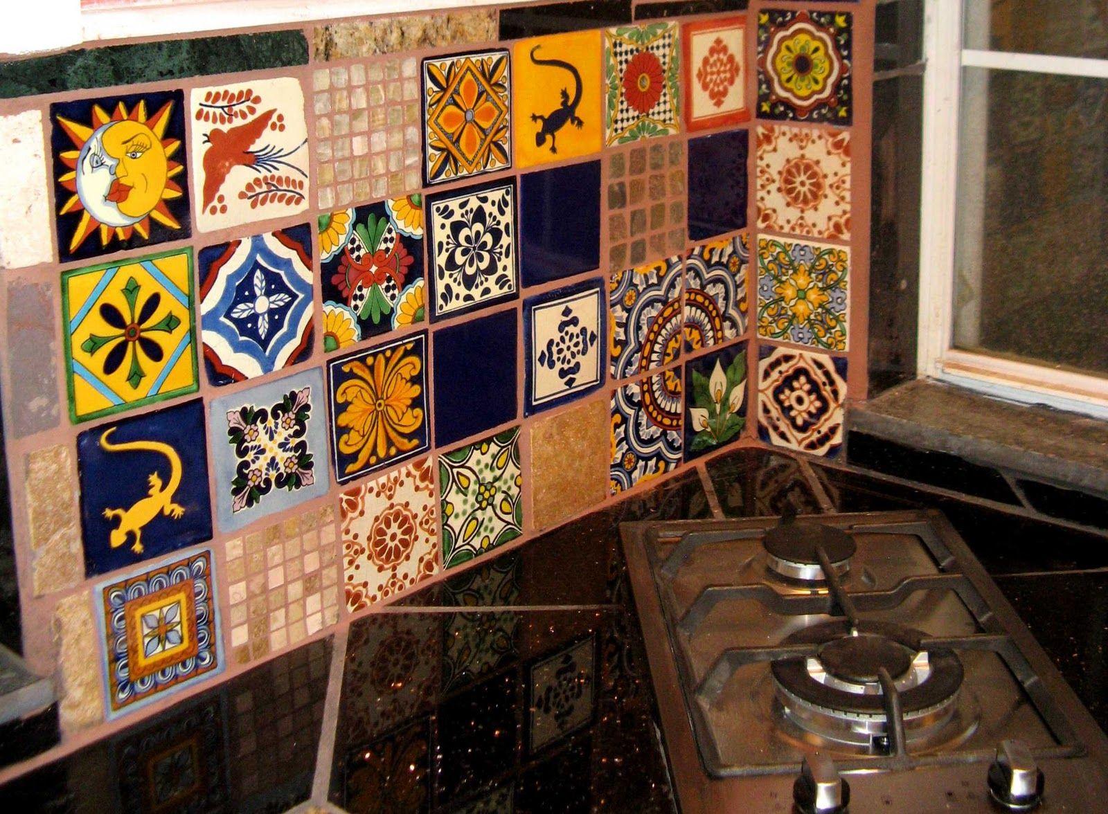 Mexican Tiles Kitchen Future Kitchen Remodel Decor Ideas Pinterest
