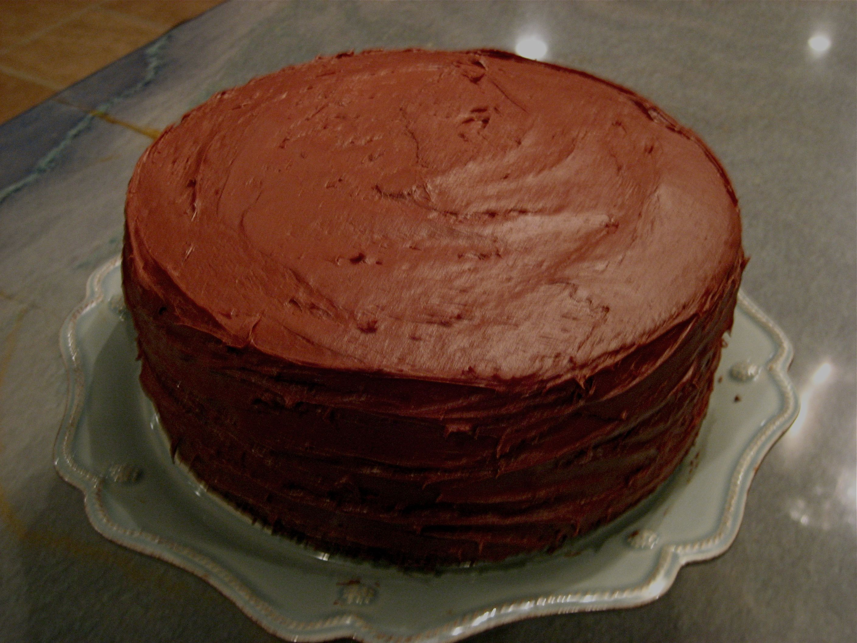 Double Chocolate Layer Cake | Books Worth Reading | Pinterest