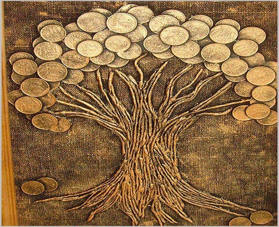 Фото денежного дерева своими руками 94