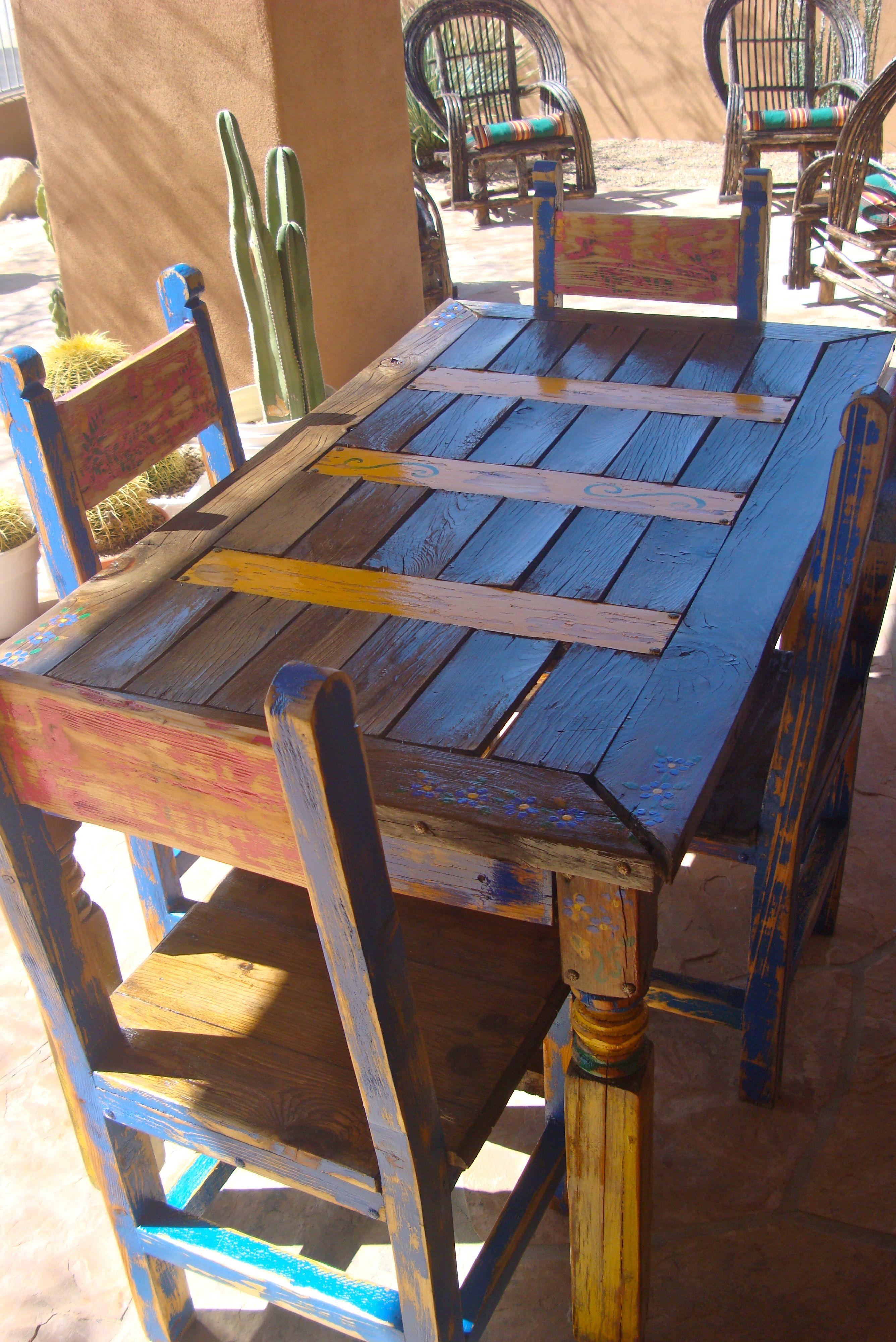 Mexican Patio Set diy furniture