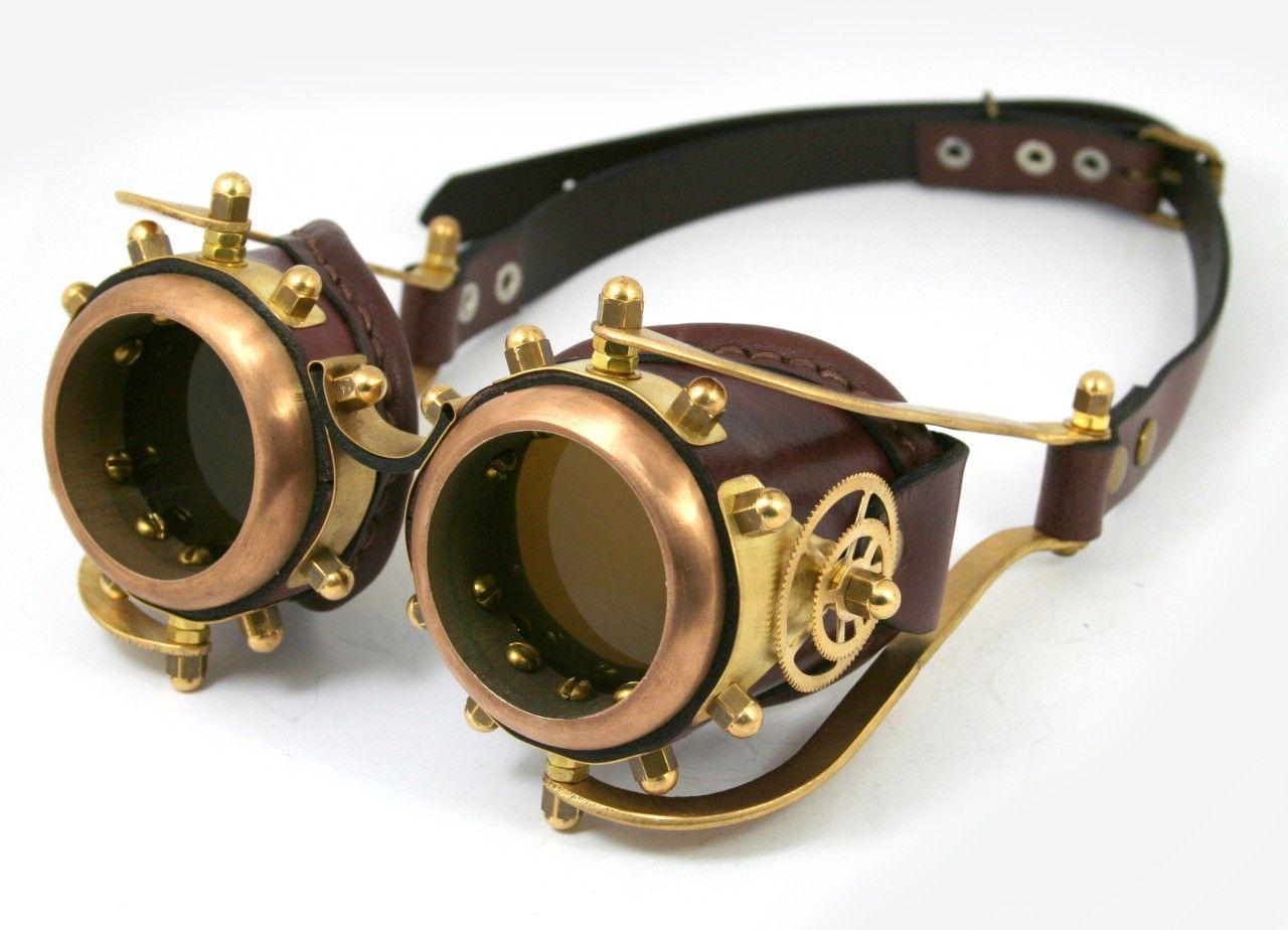 Steampunk goggles   Steampunk   Pinterest