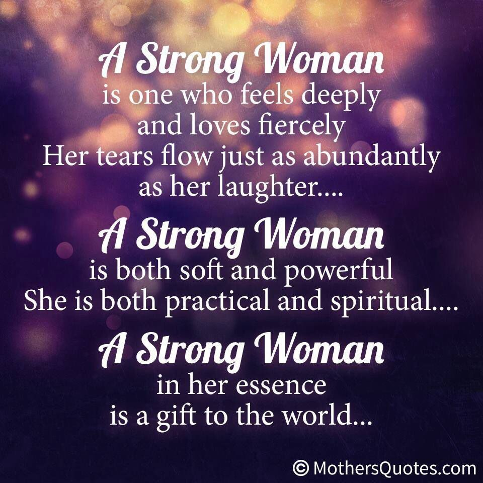 A strong woman Inspiration & Quotes Pinterest