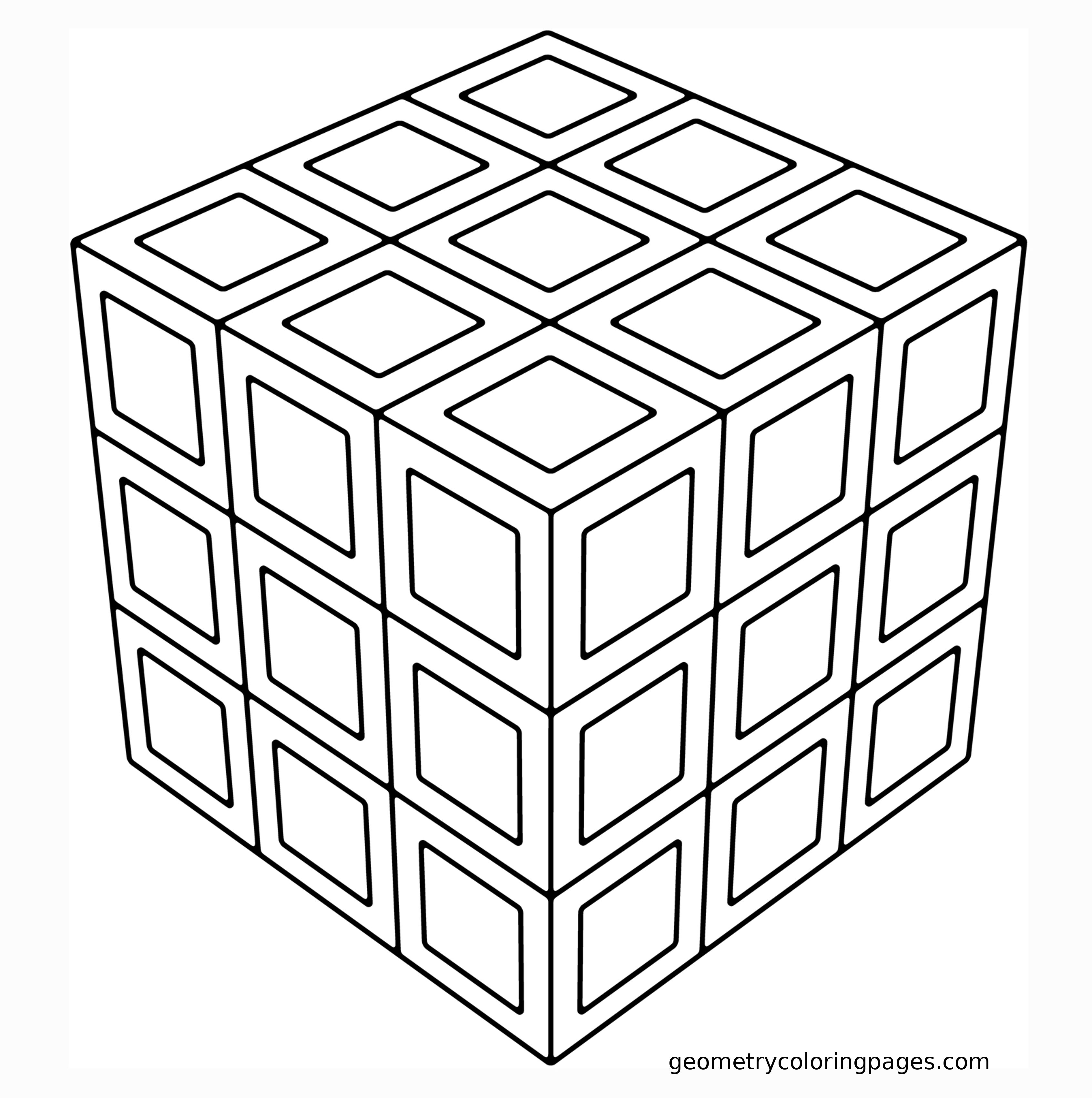 geometric coloring pages to print free image