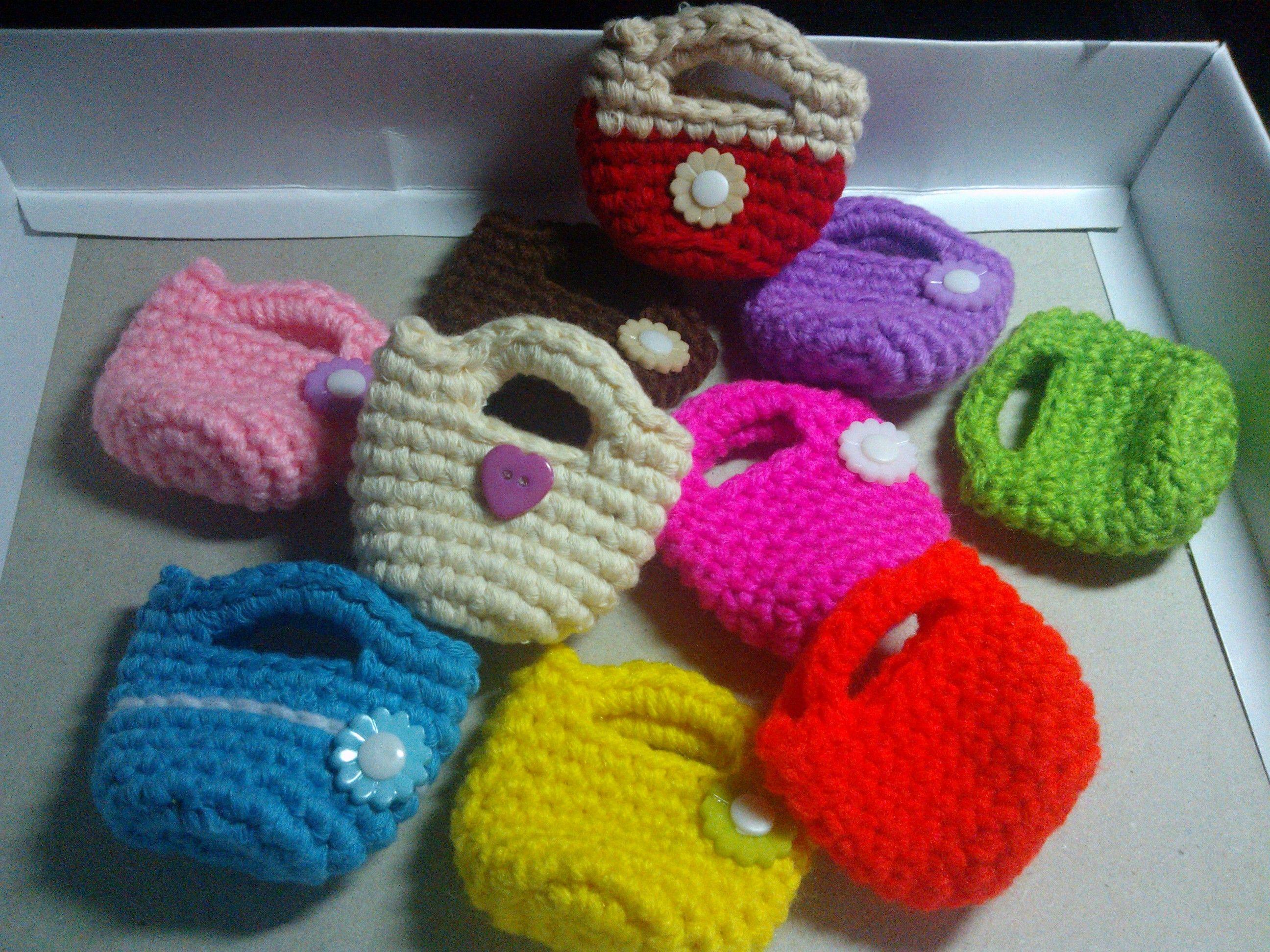 Crochet Purse Keychain Pattern : Purse keychain Crochet Pinterest