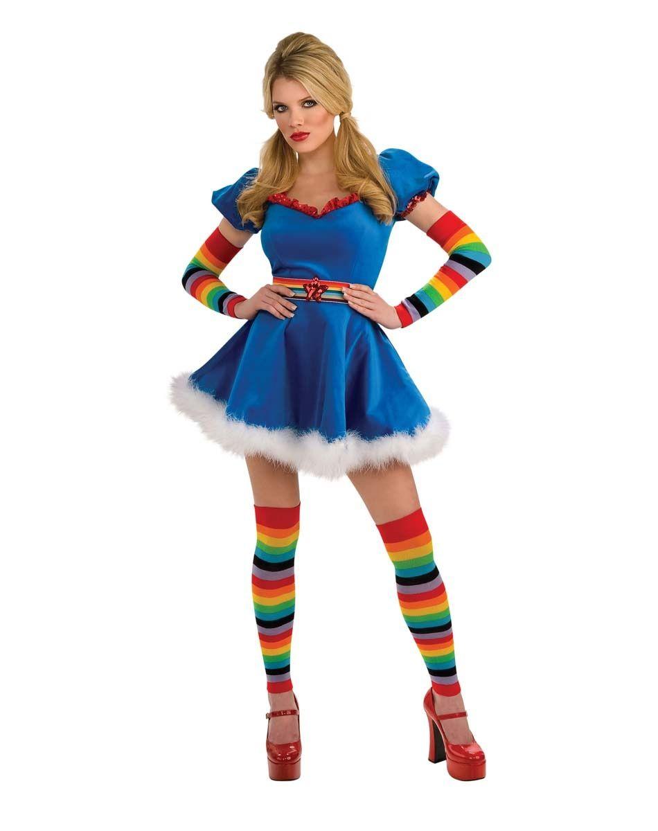 rainbow brite adult costume eBay