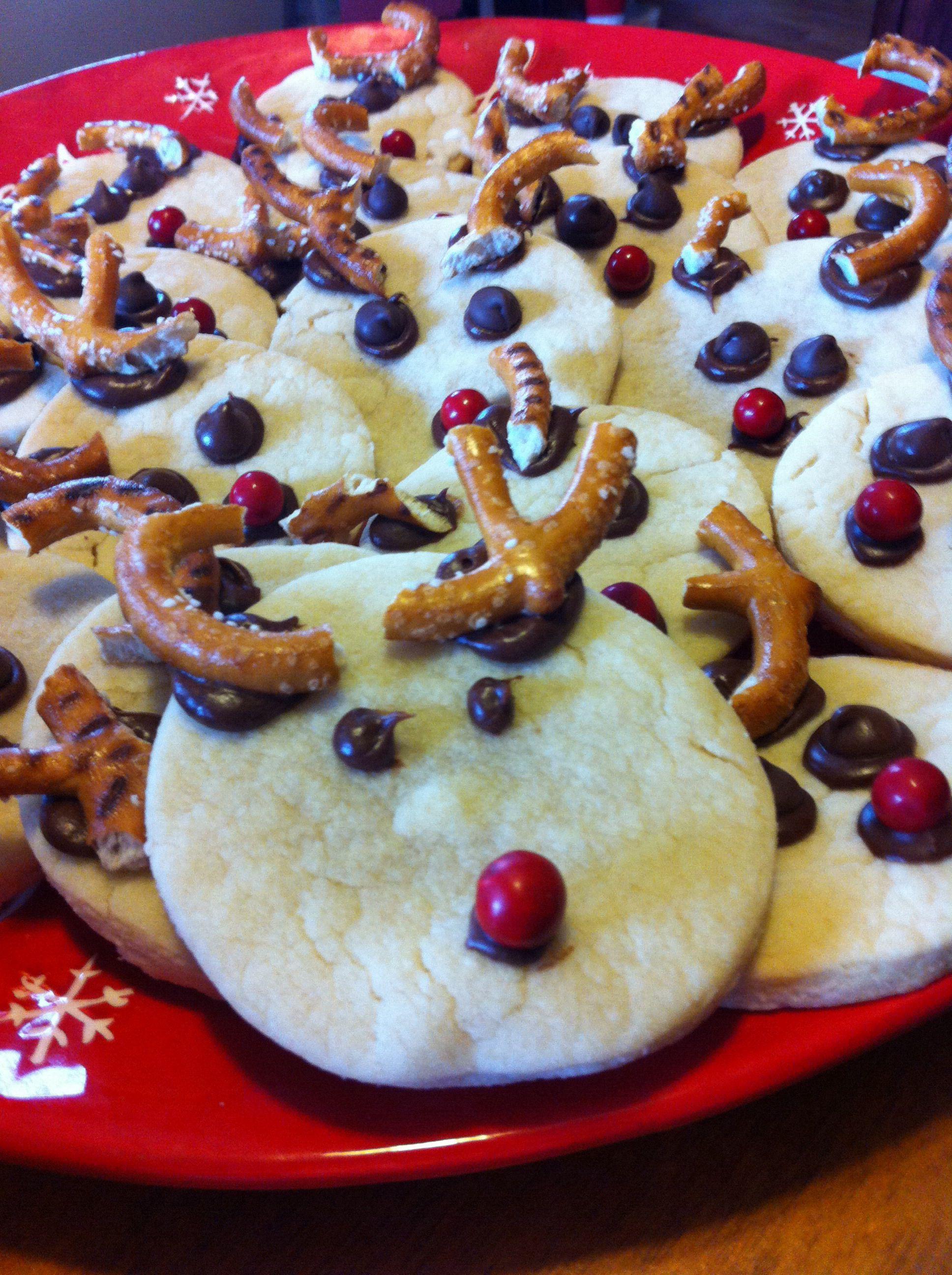 Easy Christmas cookies | Ho HO HO | Pinterest