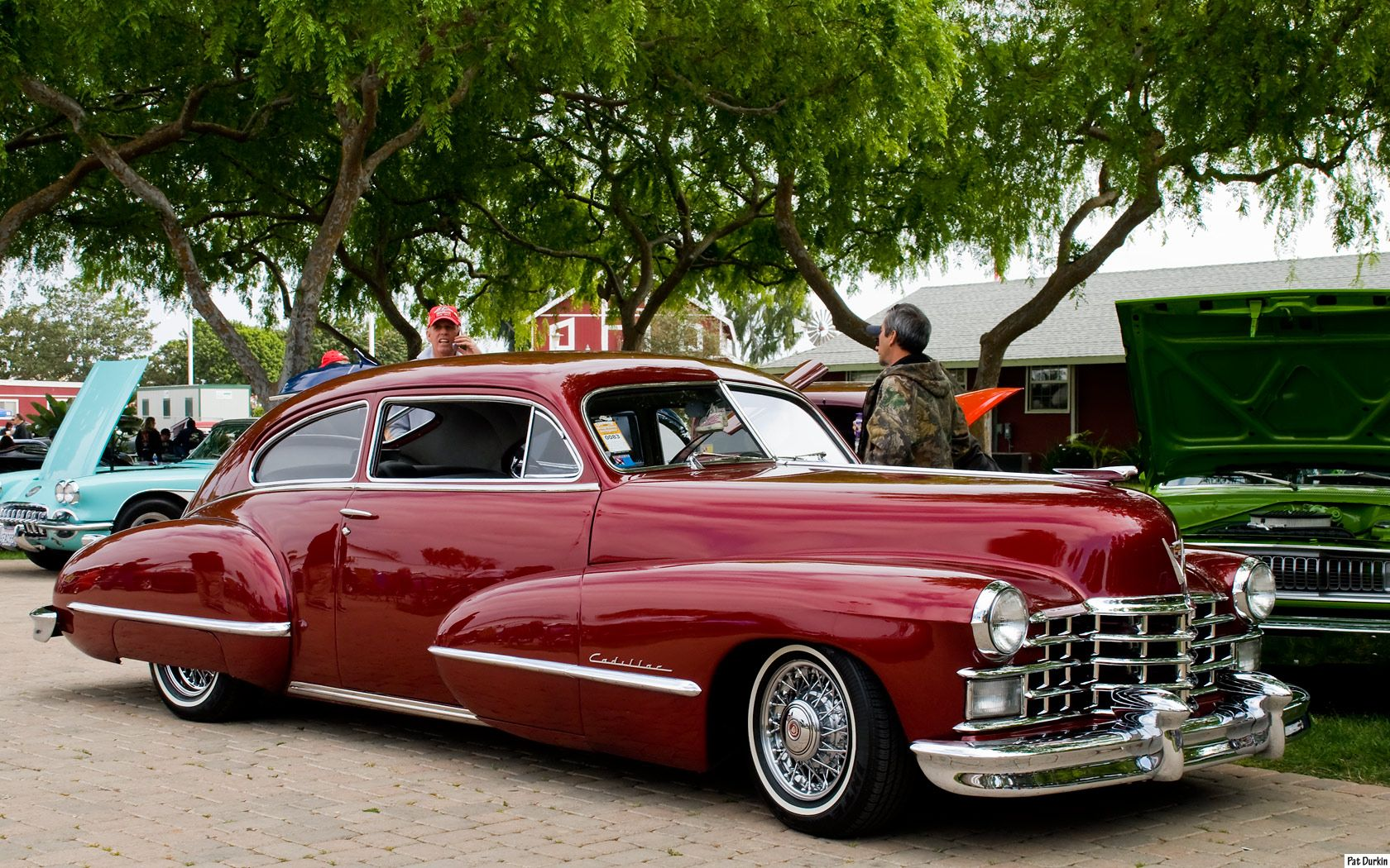 1947 Cadillac Club Coupe Candy Apple Red Automotive