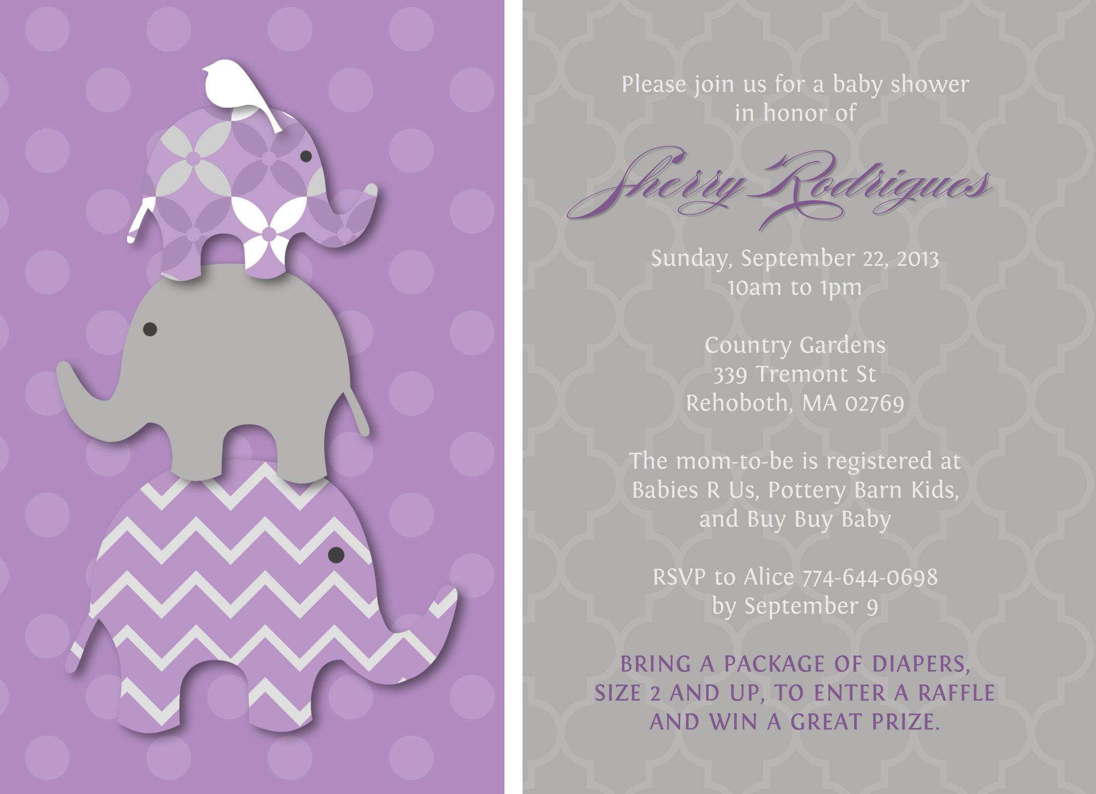 E Invite Baby Shower was luxury invitations template