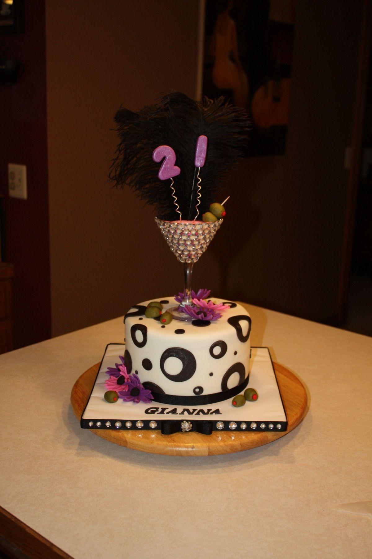 Birthday Cake Designs For 21st Birthday : Pinterest
