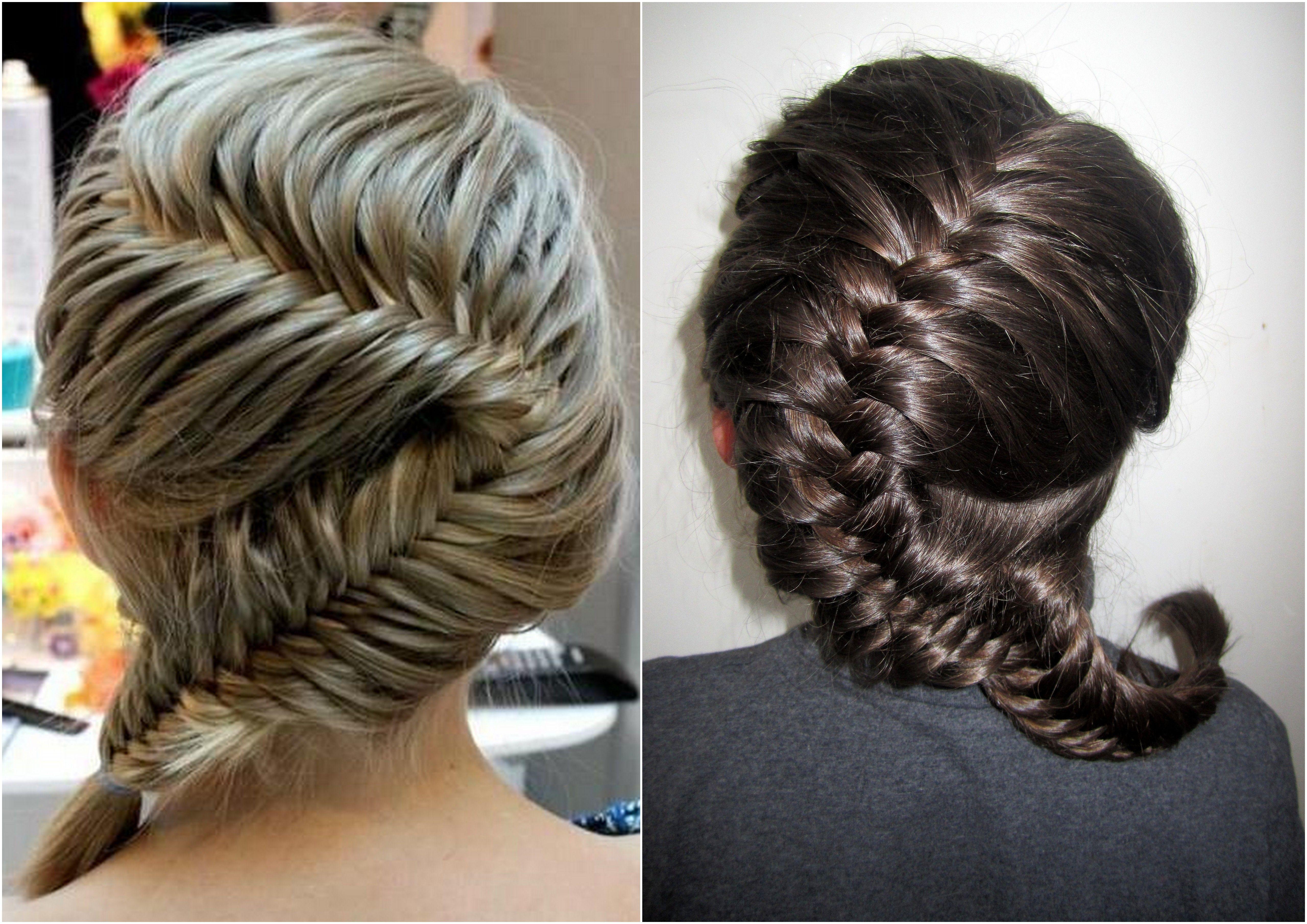 French Fishtail Braid Hairstyles Pinterest