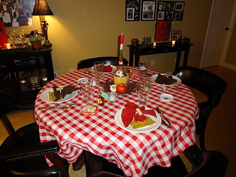 Tablesetting For Italian Dinner Party Italian Pinterest