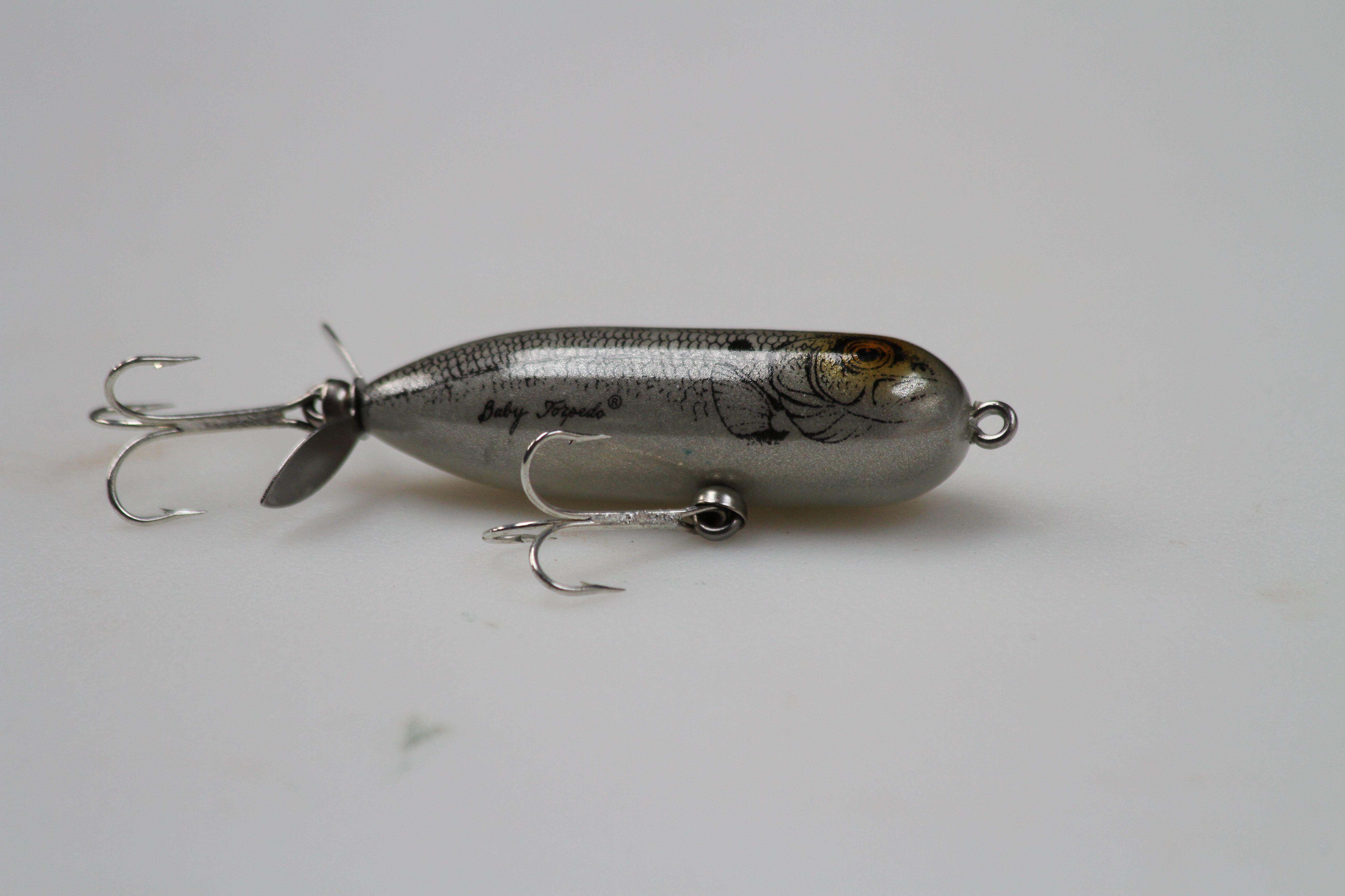 Baby torpedo fishing lures for Torpedo fishing lure