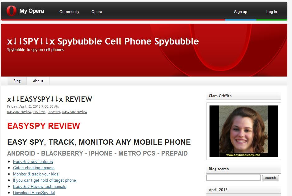 mobile spy for blackberry xm app