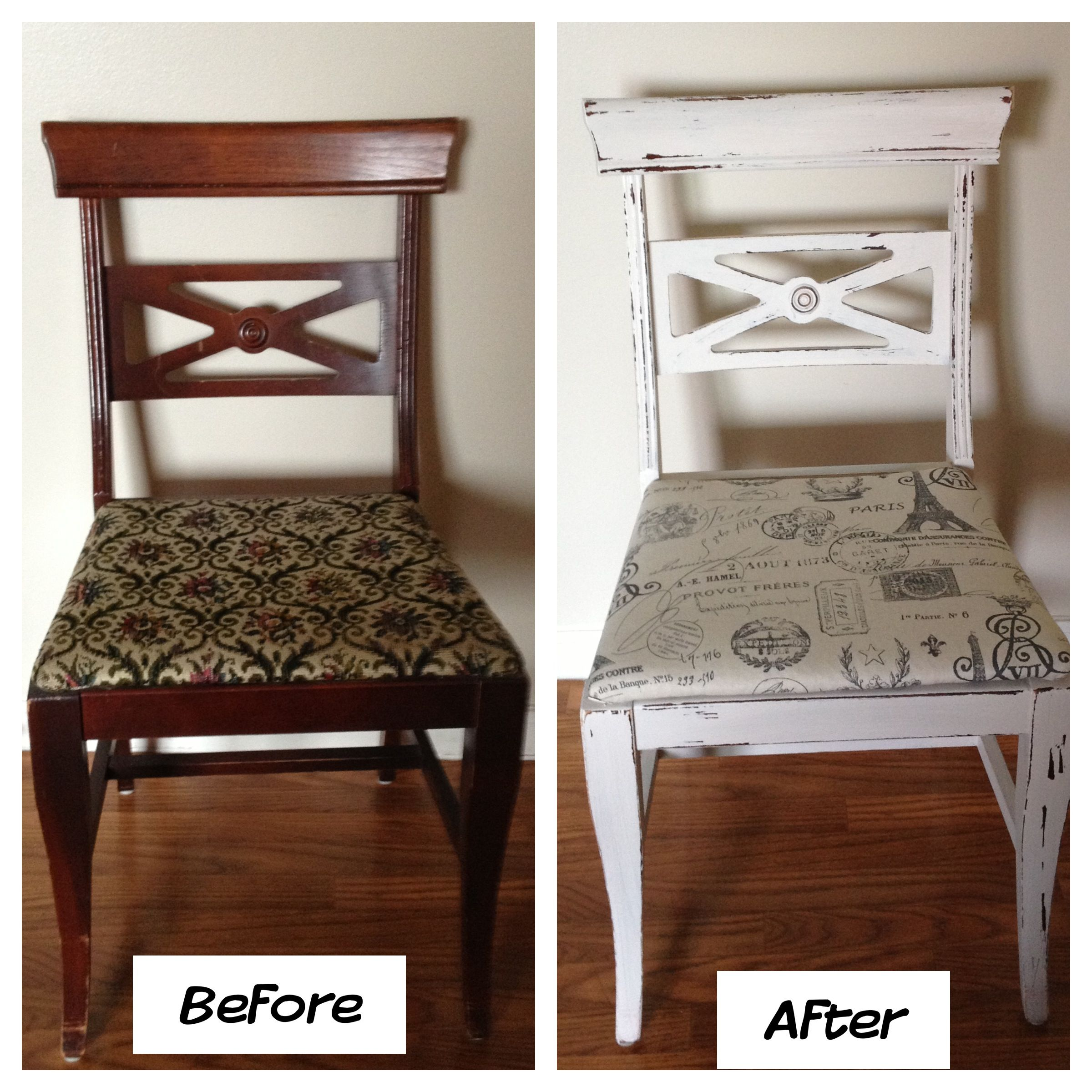 Repurposed chair | Furniture Re-Do's | Pinterest