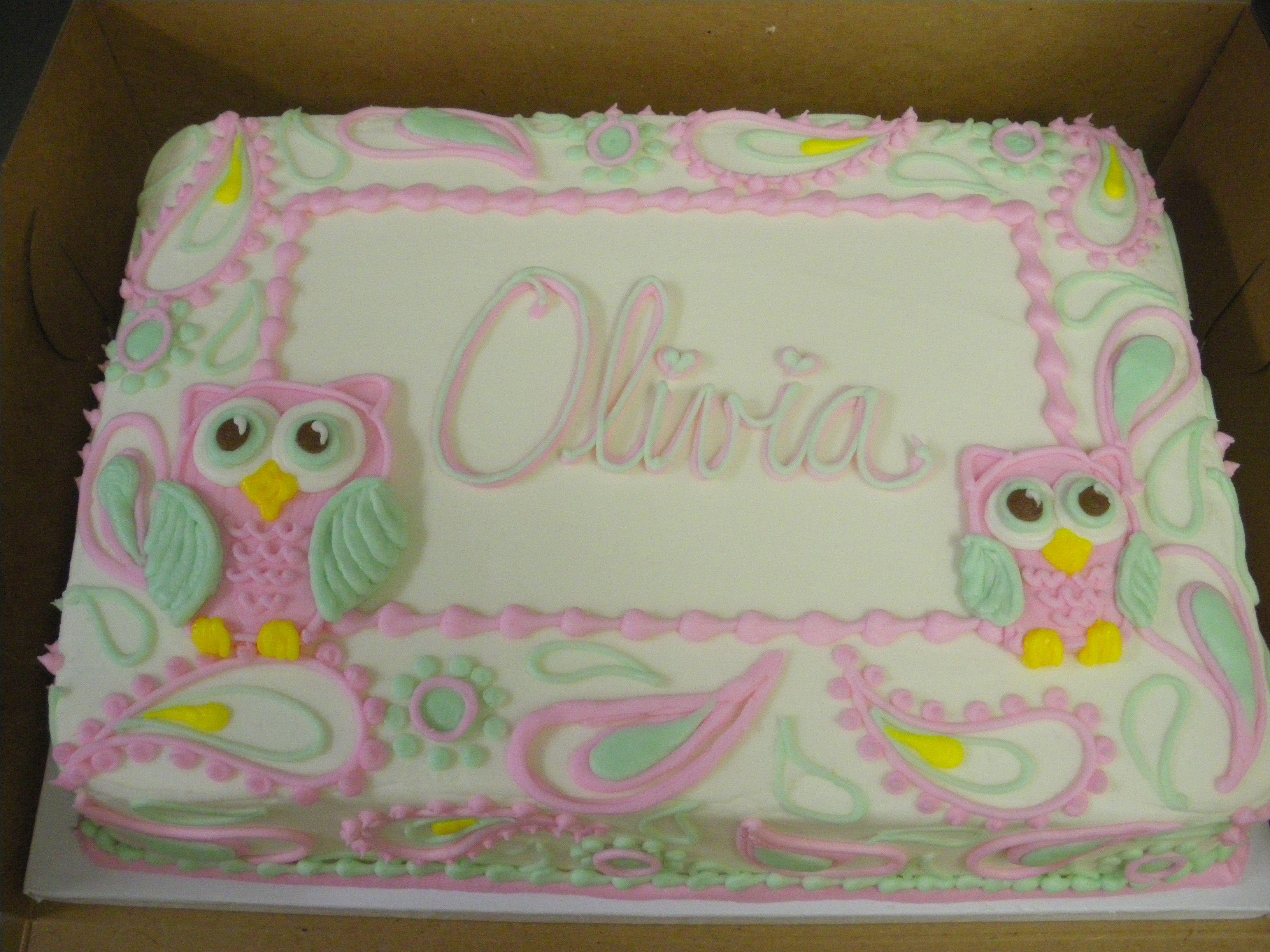 Owl Cakes Pinterest Uploaded to Pinterest Pin Owl