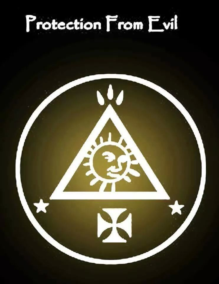 protection from evil wiccan symbols pinterest