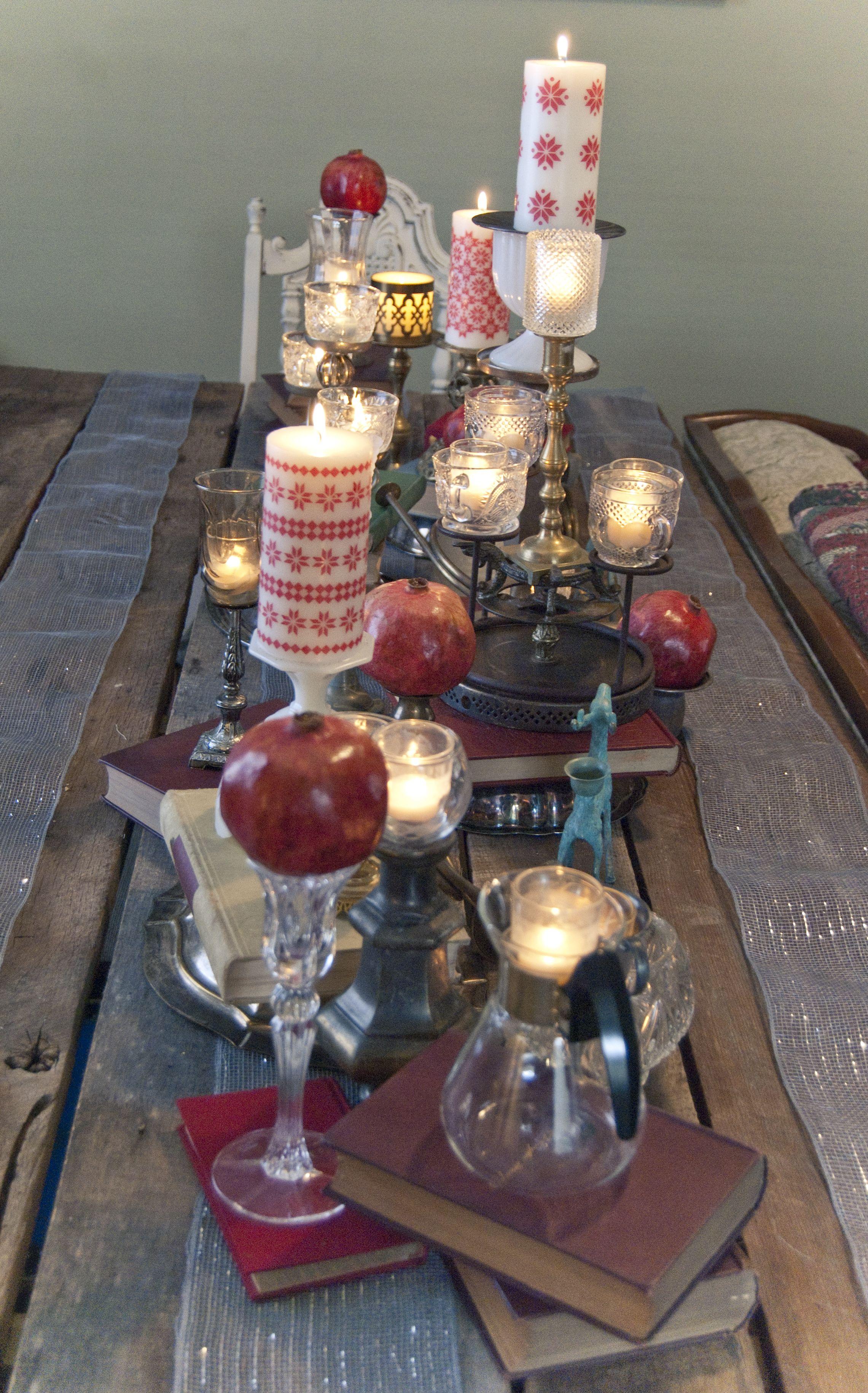 VillaXL  Christmas Special  Kerst Diner tafel dekken