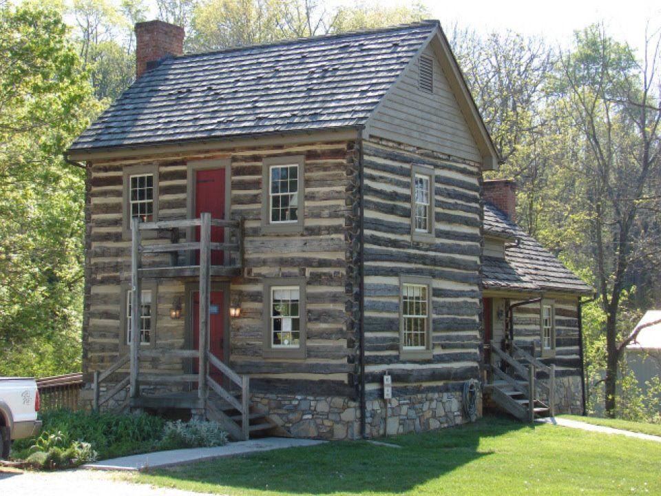 White Oak Tea Tavern Roanoke Va Old Log Homes And Some