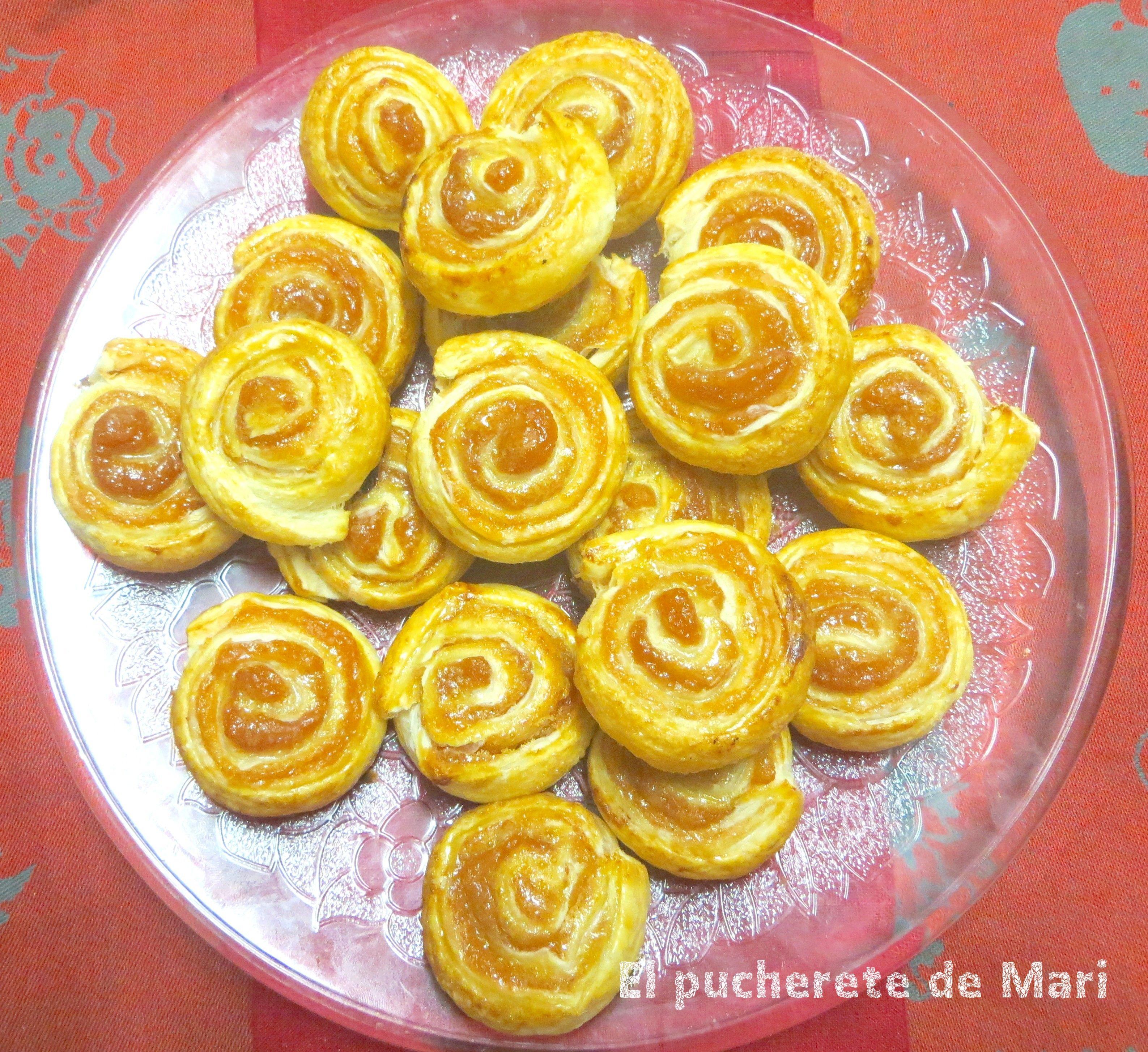 ESPIRALES DE MEMBRILLO | Mis recetas | Pinterest