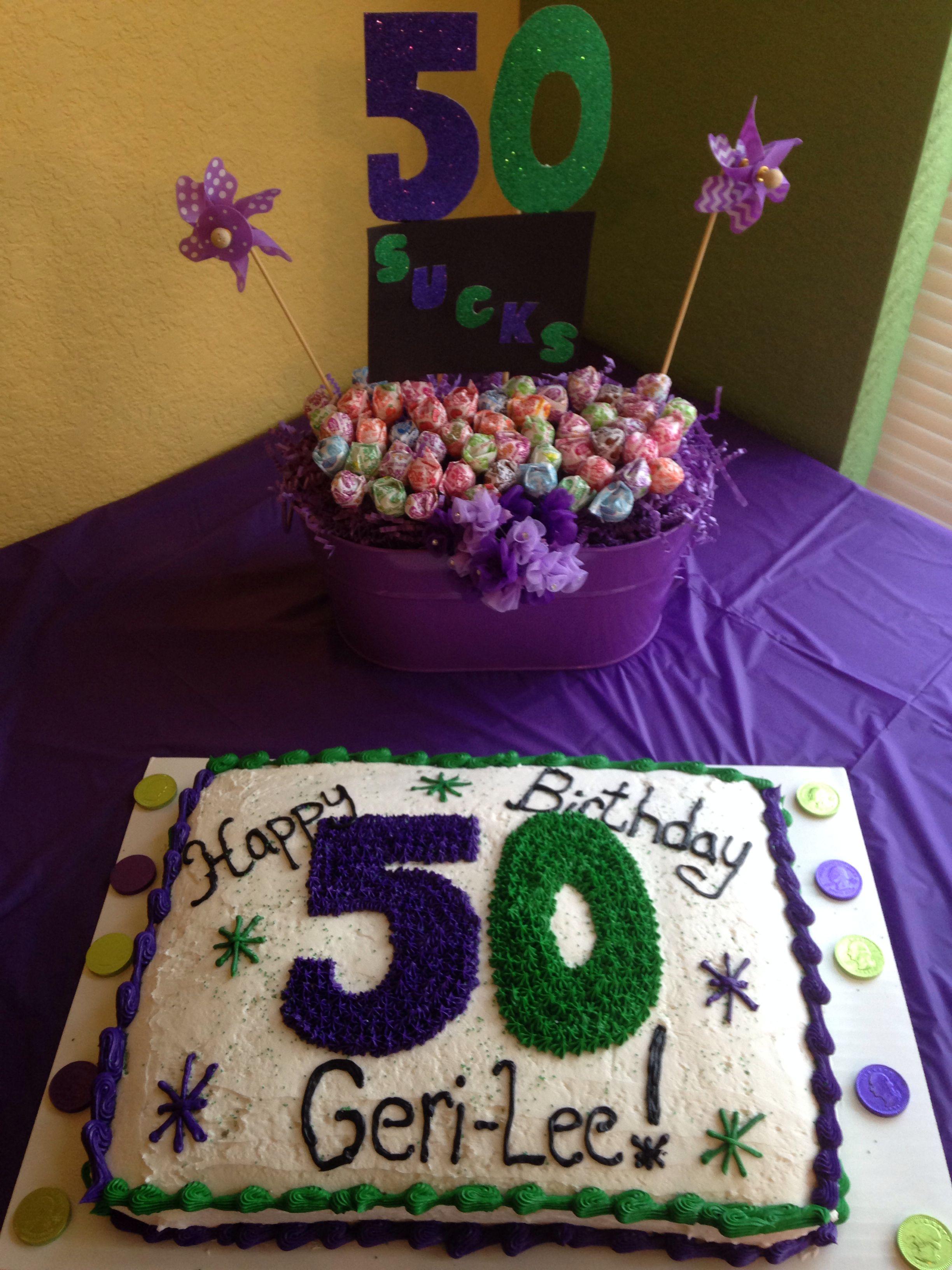 50th Birthday Party Ideas Pinterest