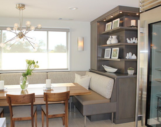 Beautiful Built In Dining Room Seating