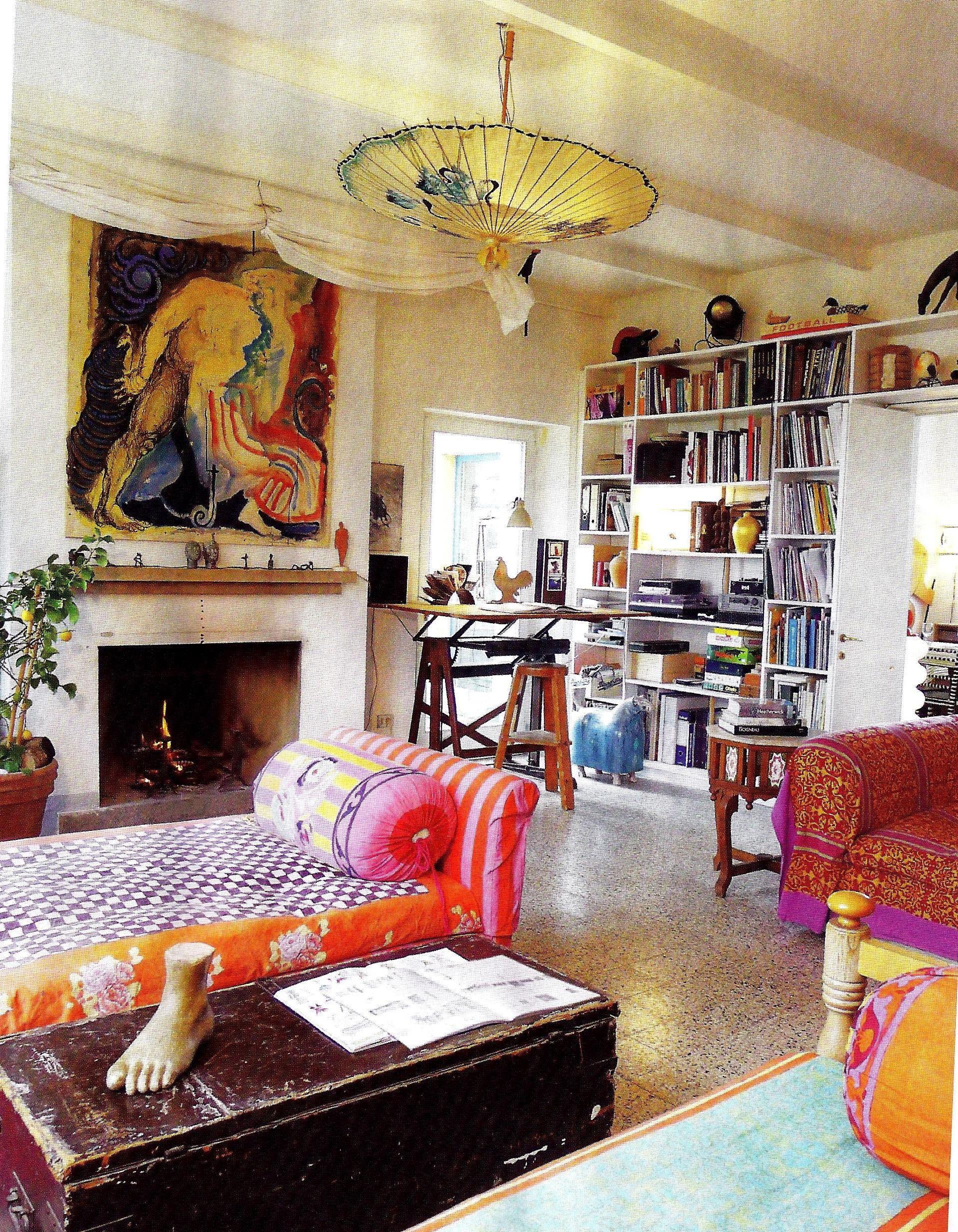 A casa di ro interior design and style page 4 for Boho style arredamento