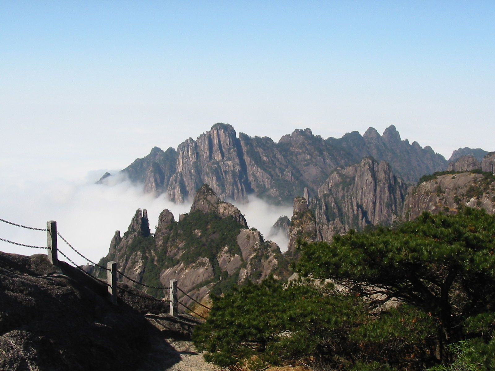HuangShan Mountains 49 | HuangShan Mountains | Pinterest