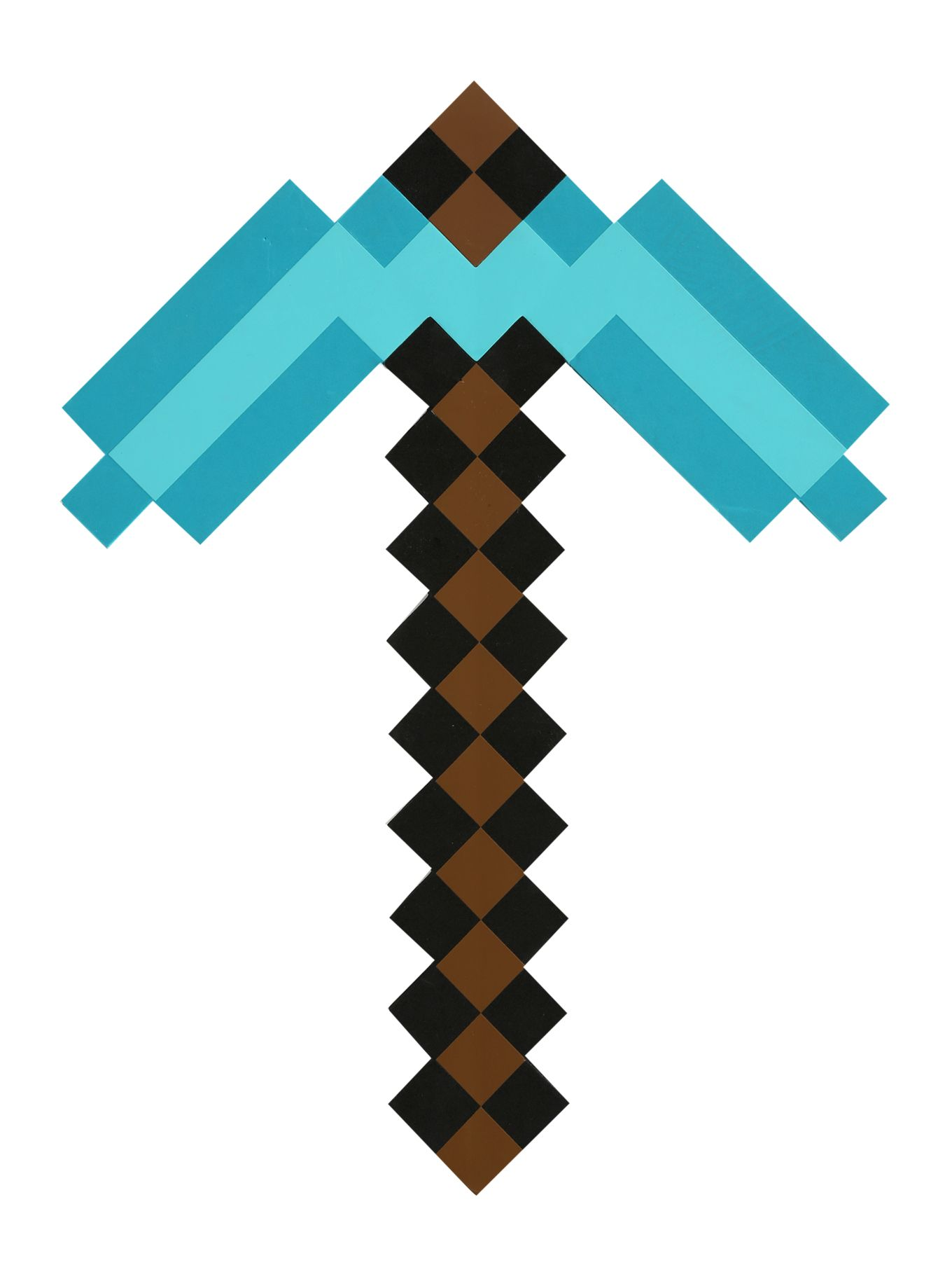 How to Make a Pickaxe on Minecraft